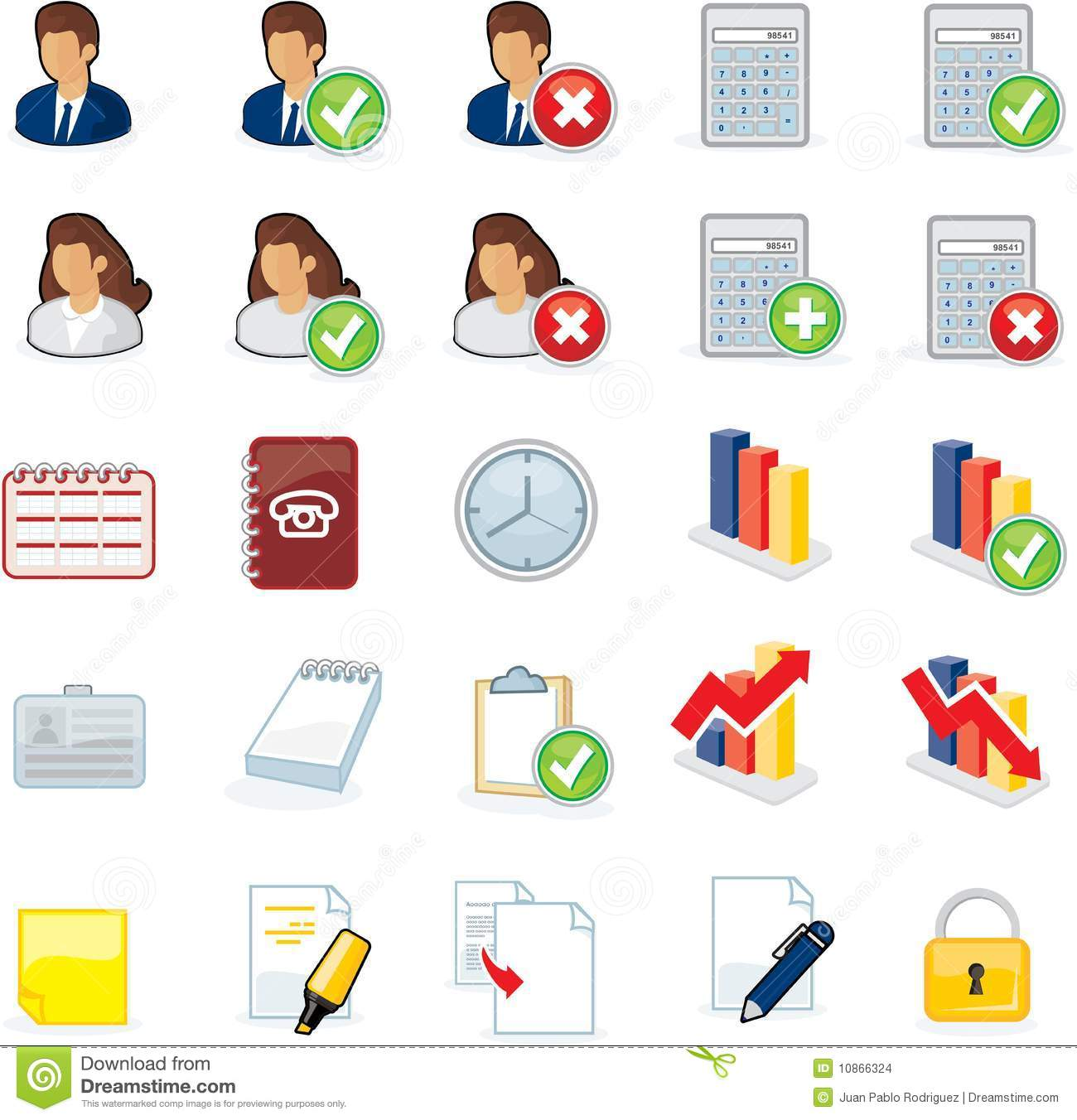 Computer Icons Stock Images - Image: 10866324