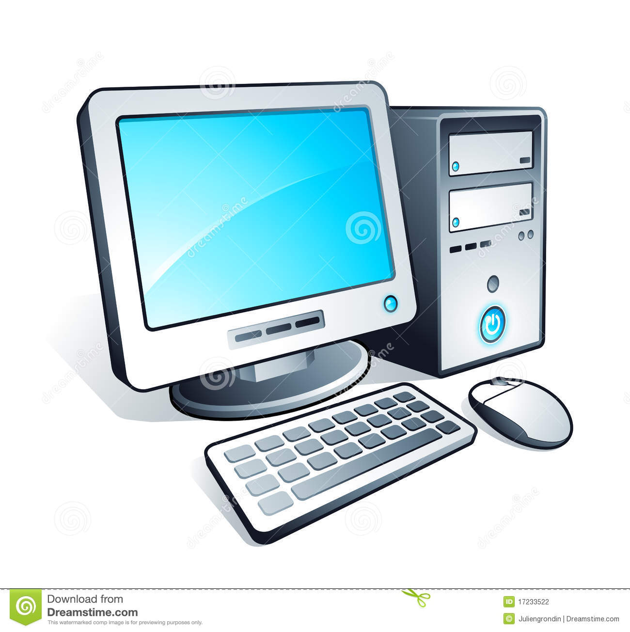 Computer Illustration Stock Photography Image 17233522