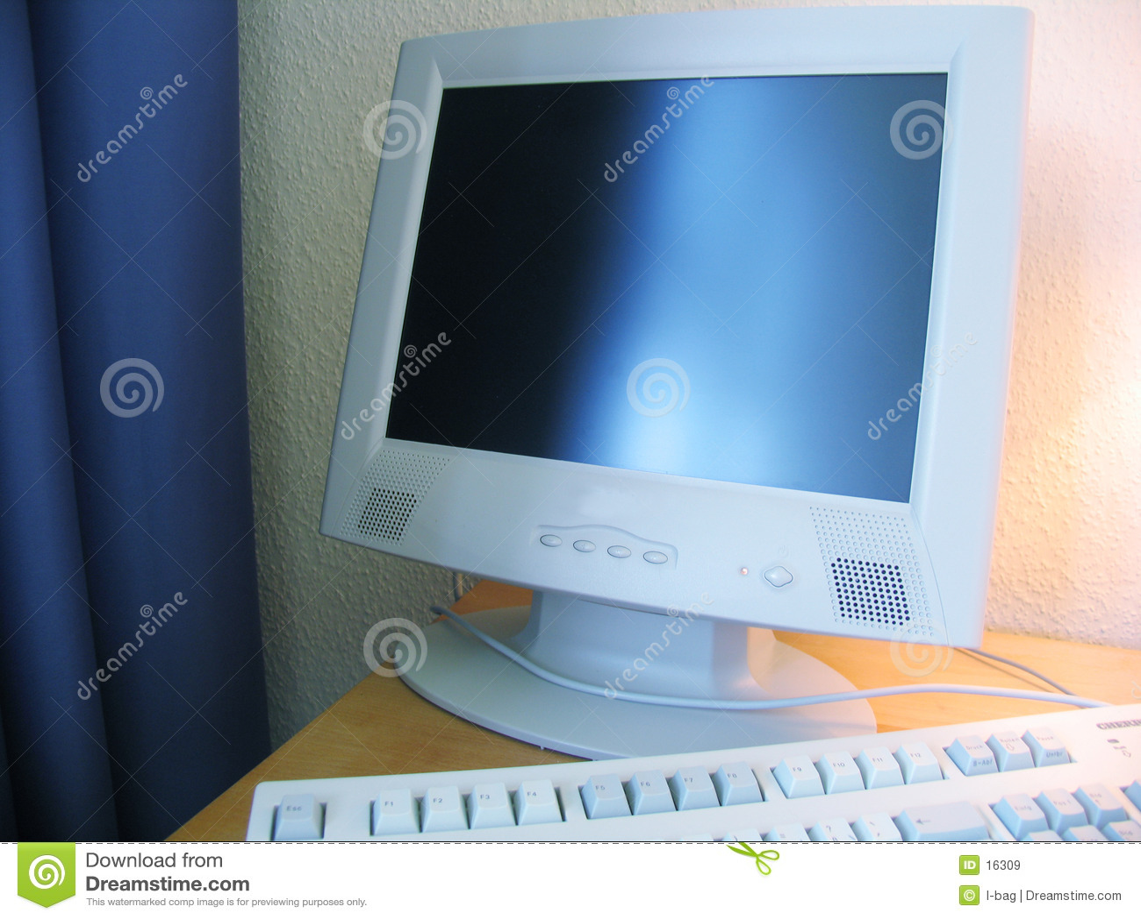Computer im Hotel