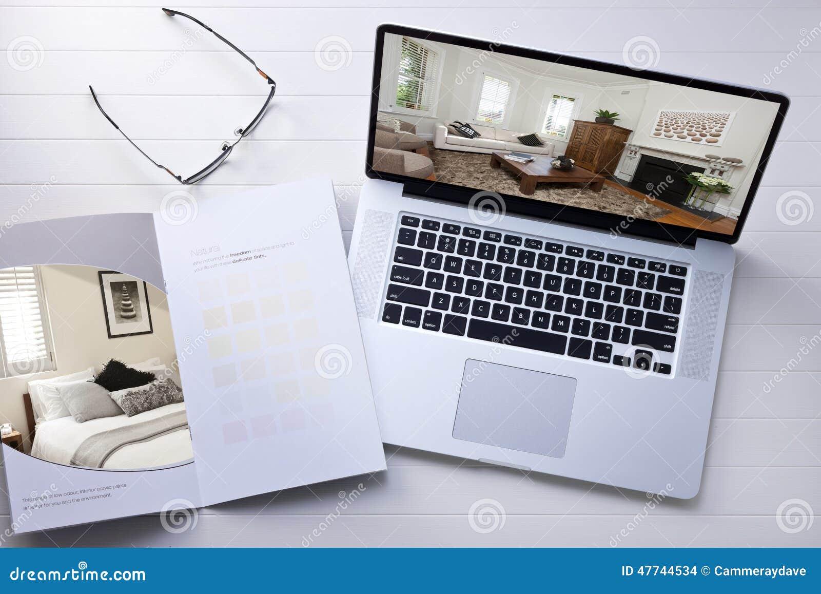 computer interior design stock photo image 47744534