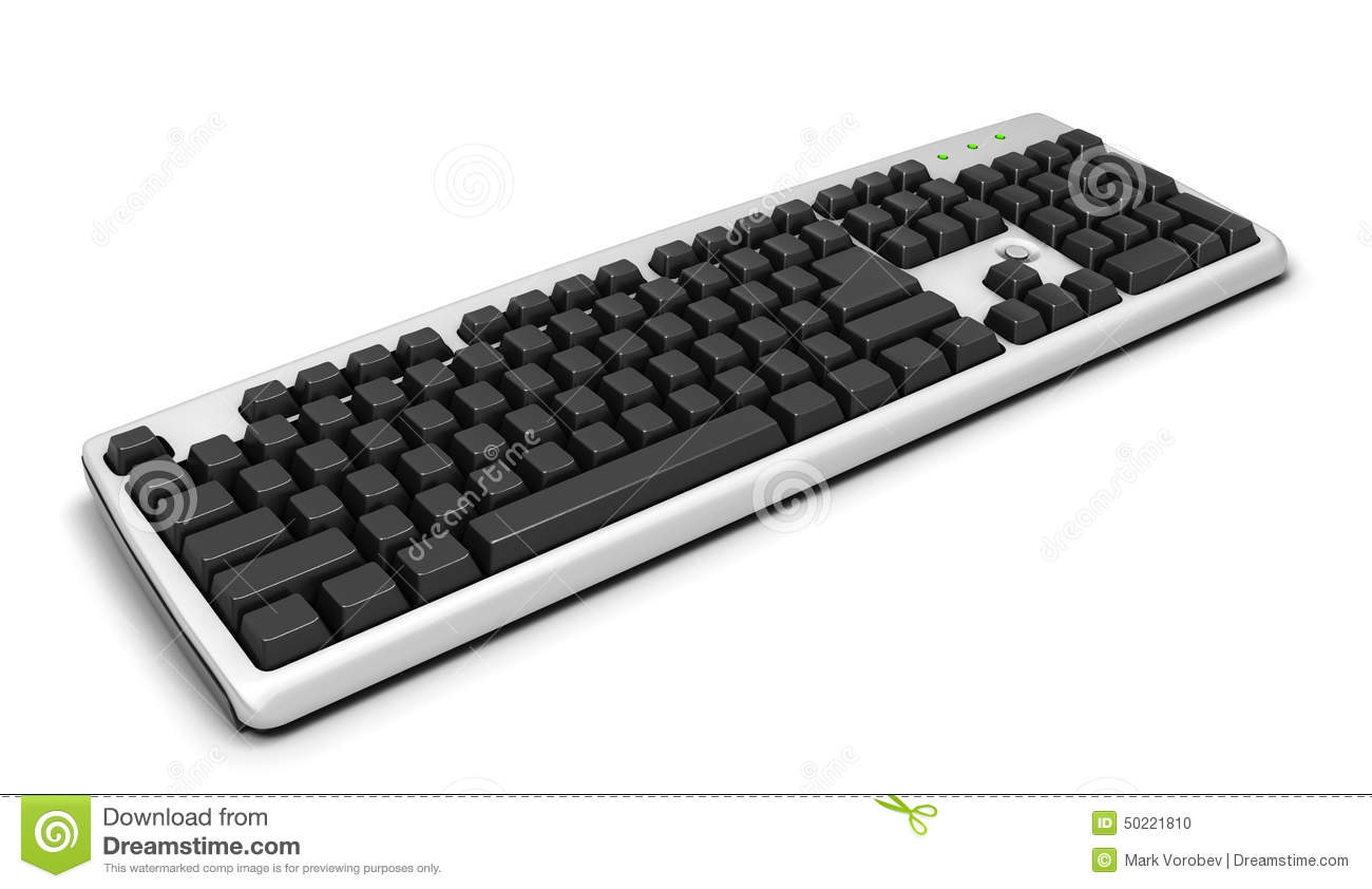 computer keyboard without letters