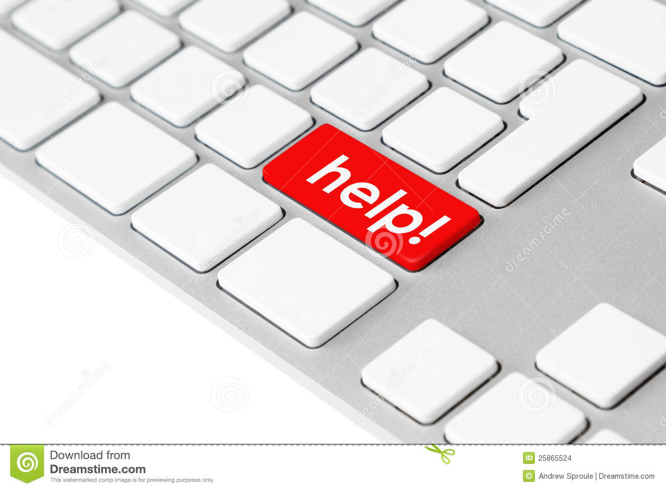 "... the word ""help!"" symbolising emergency, stress and frustration"