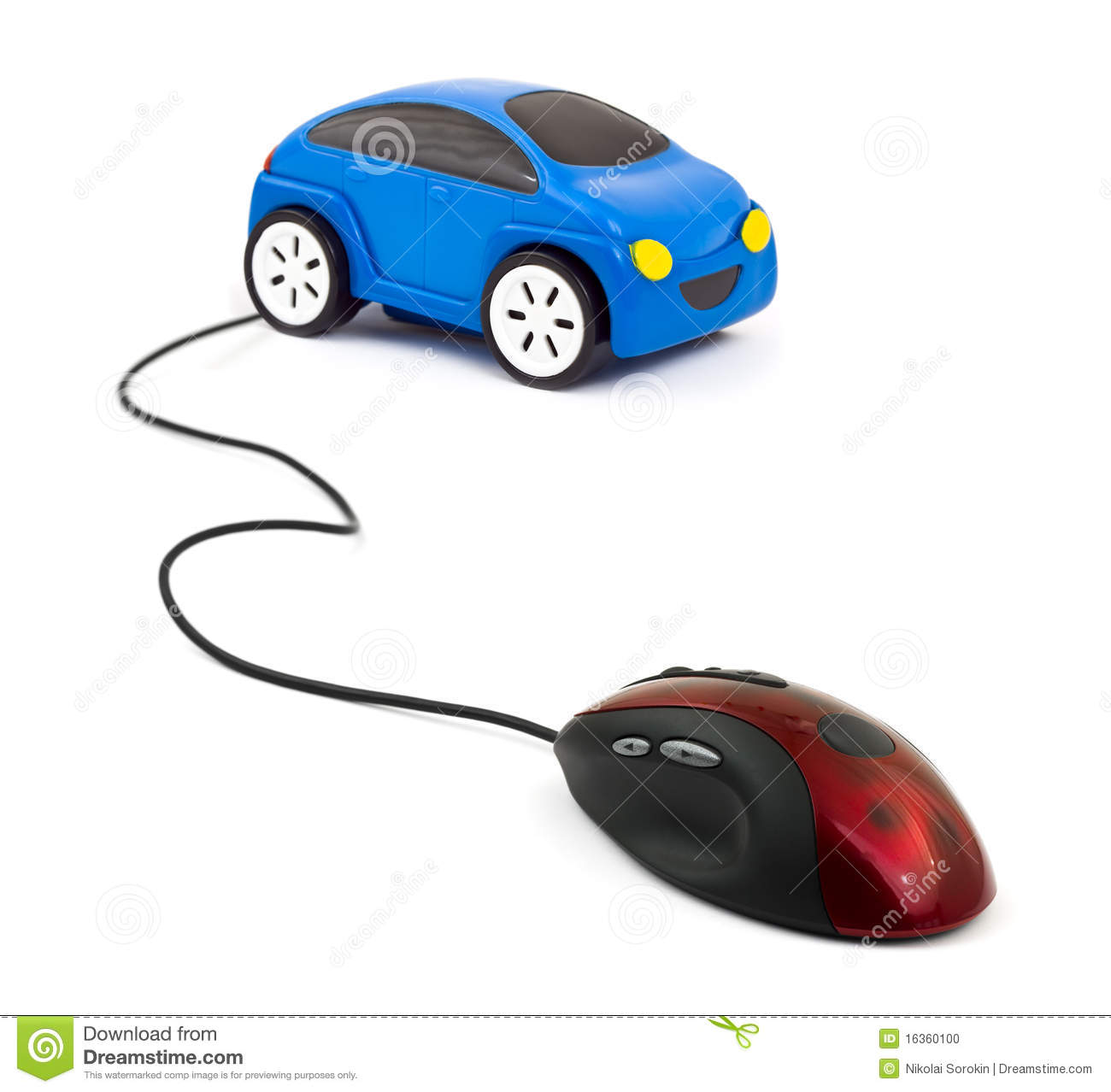 Race Car Mouse For Computer