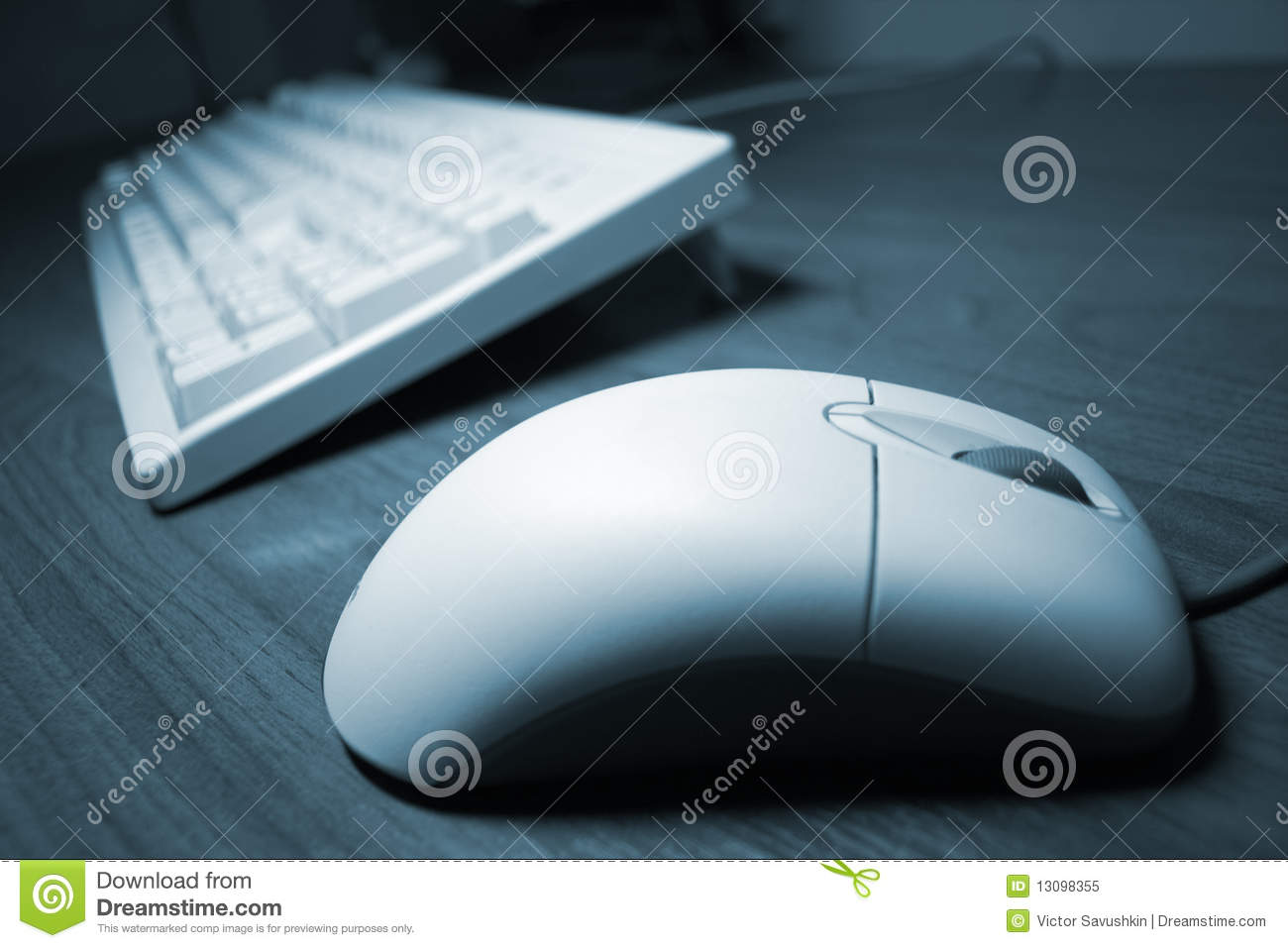 Download Computer Mouse And Keyboard Stock Image - Image of concept, buttons: 13098355