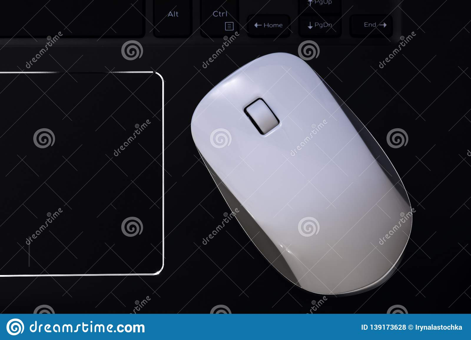 Computer Mouse With Scroll Wheel And Touchpad  PC Mouse For Laptop