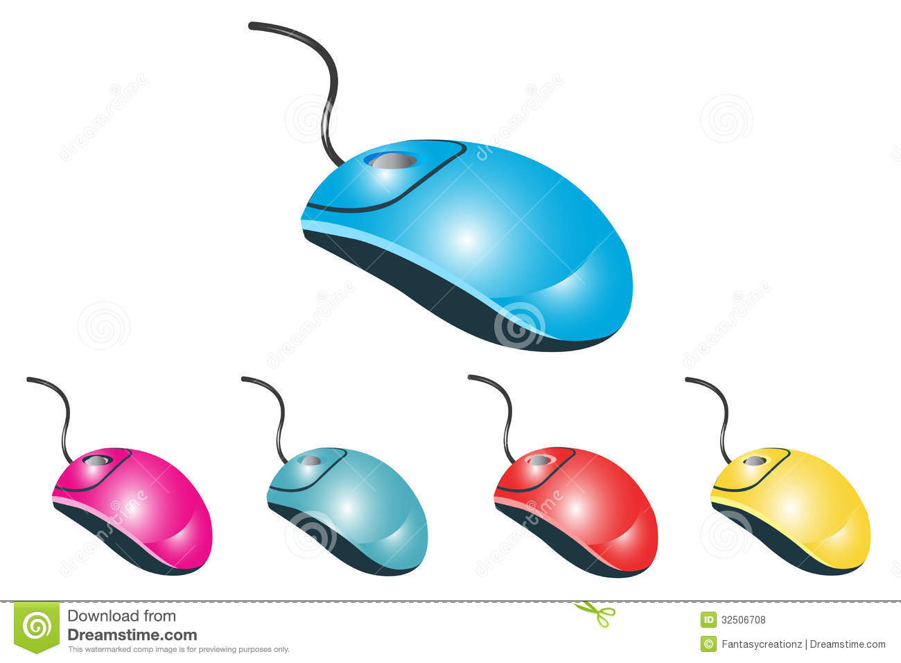 Computer Mouse Royalty Free Stock Photos - Image: 32506708