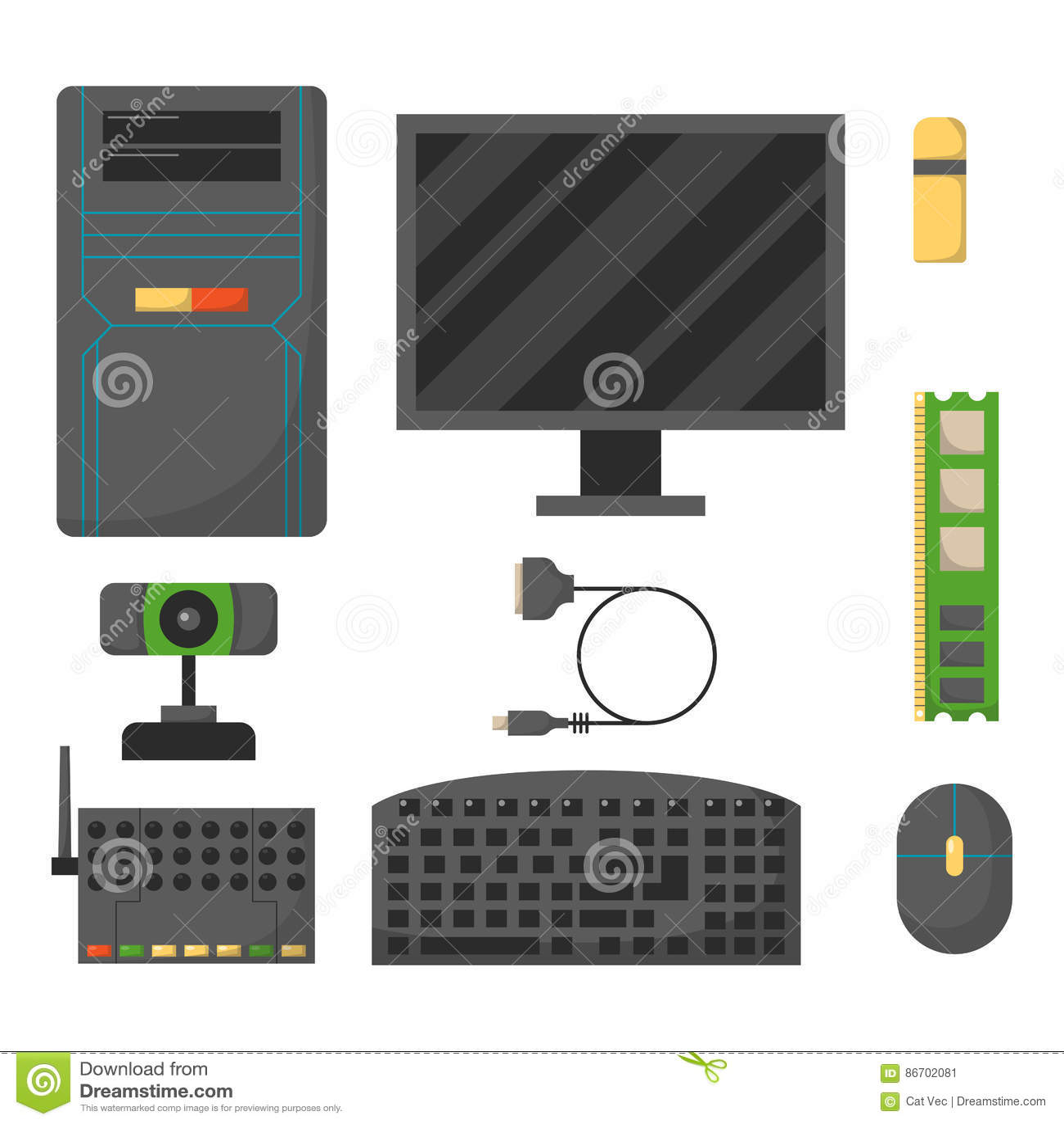 Desktop Pc Diagram - Car Wiring Diagrams Explained •