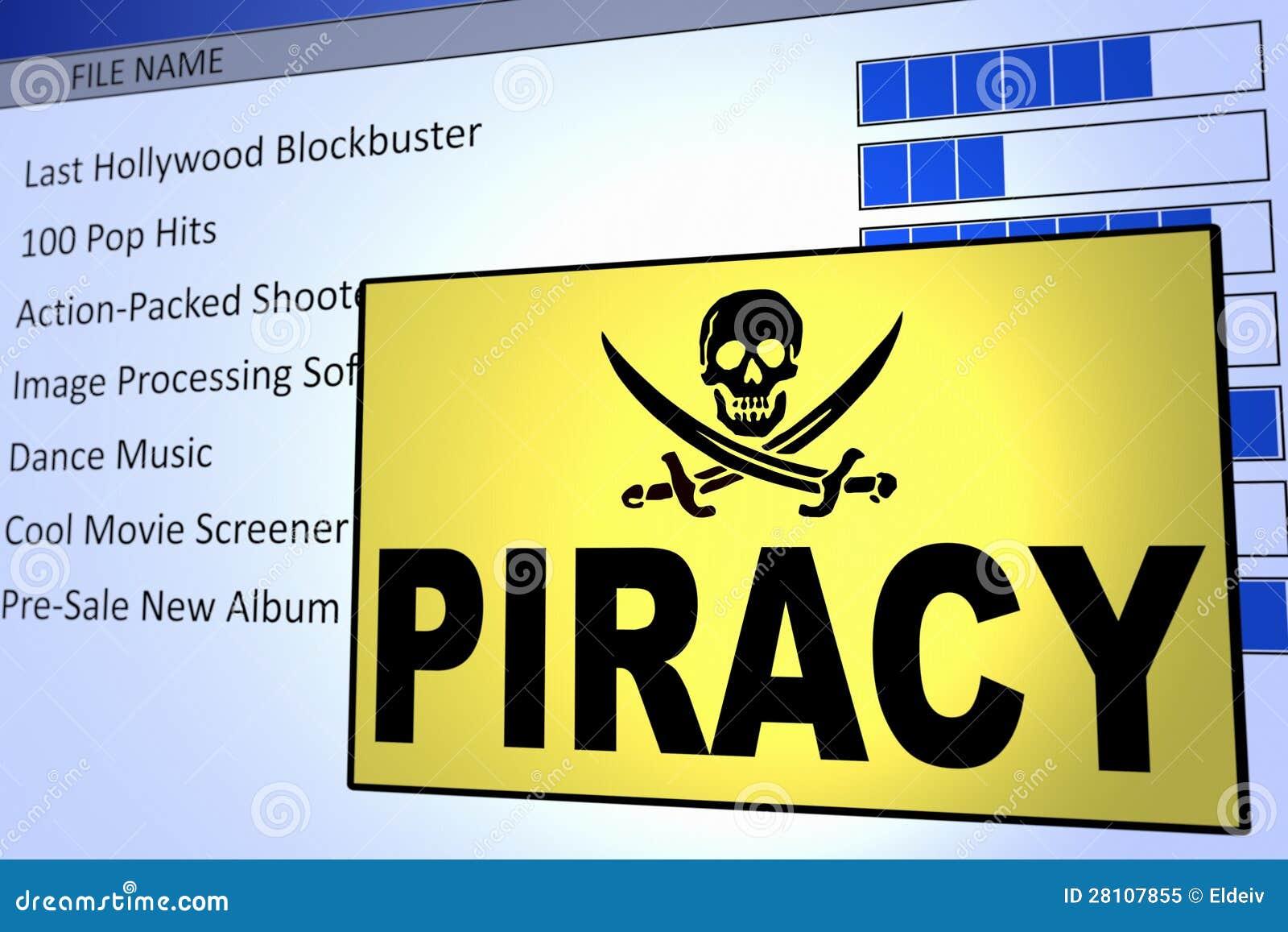 Computer Piracy Stock Illustration Image Of Danger