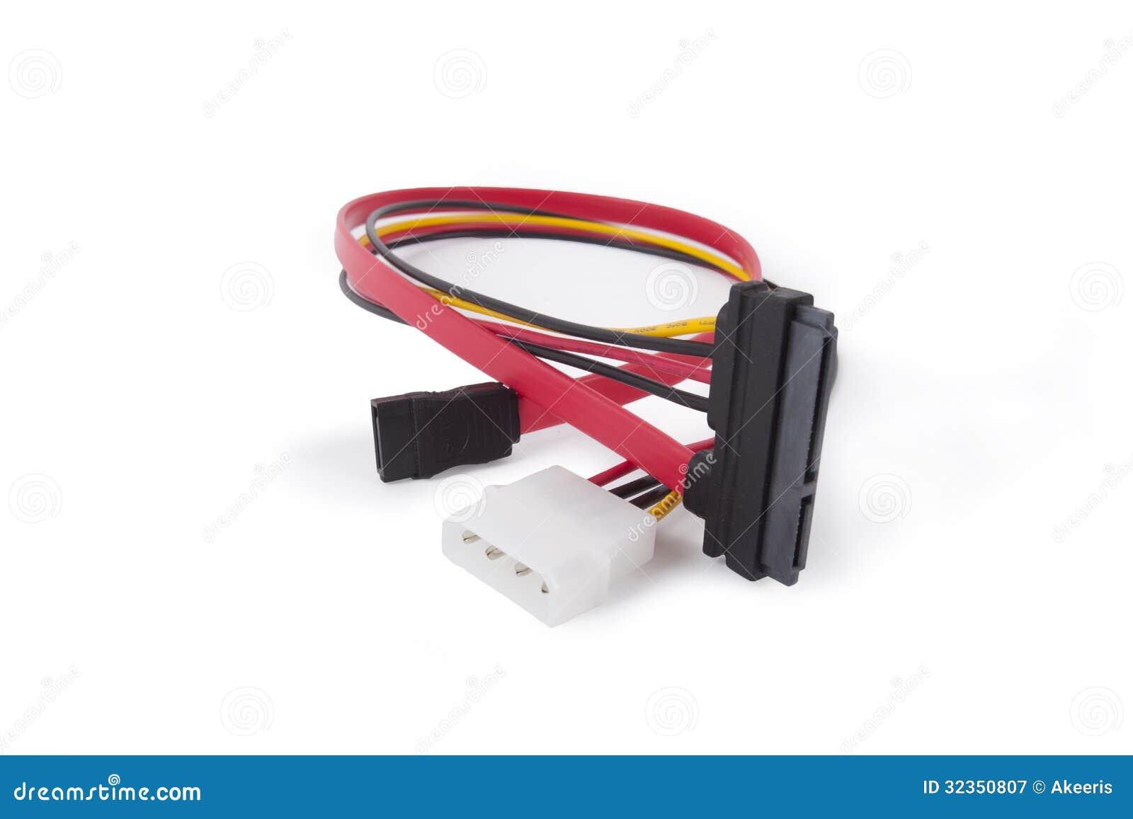 Computer plug stock image. Image of plug, electrical - 32350807