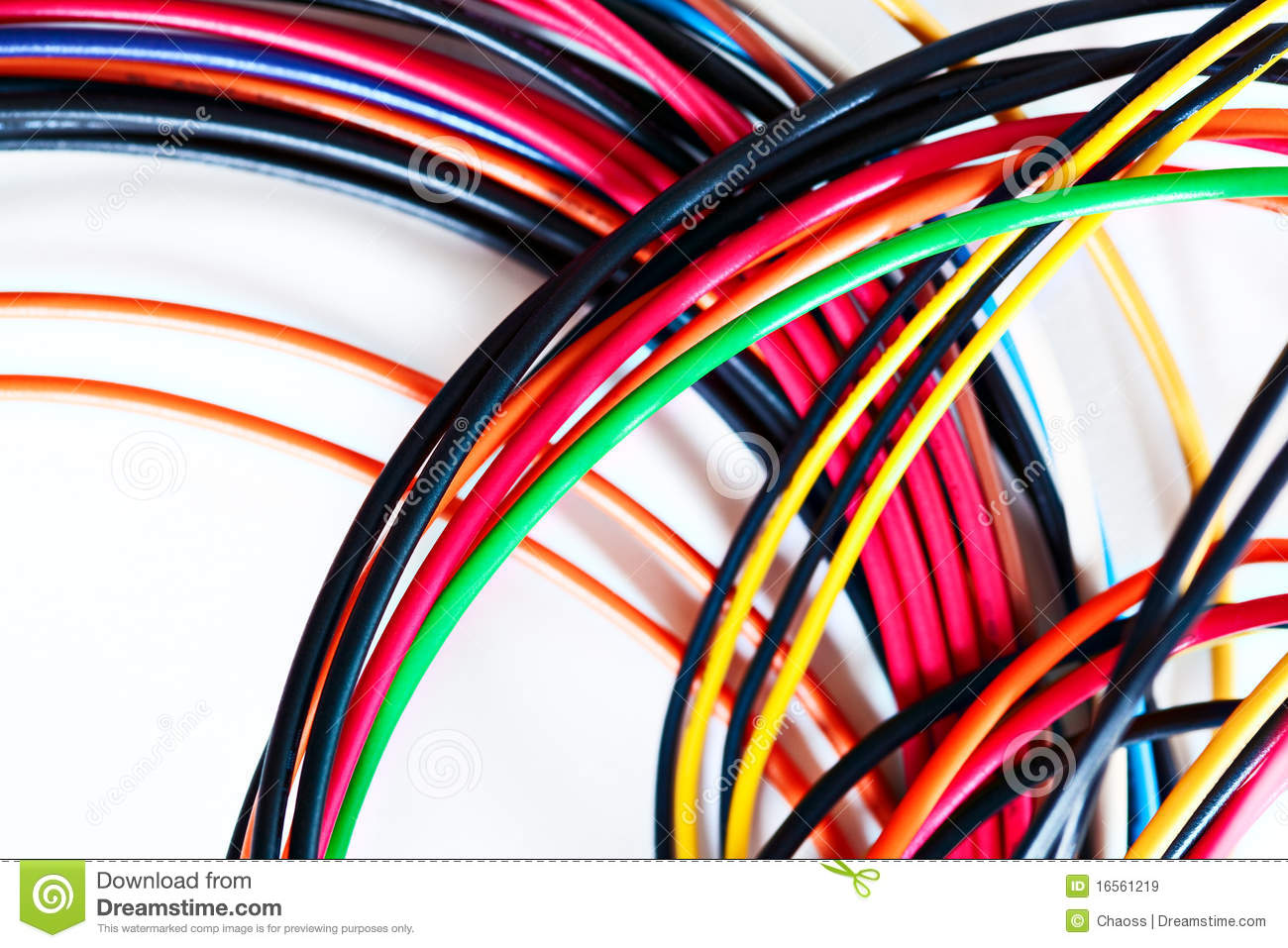 Computer power wires