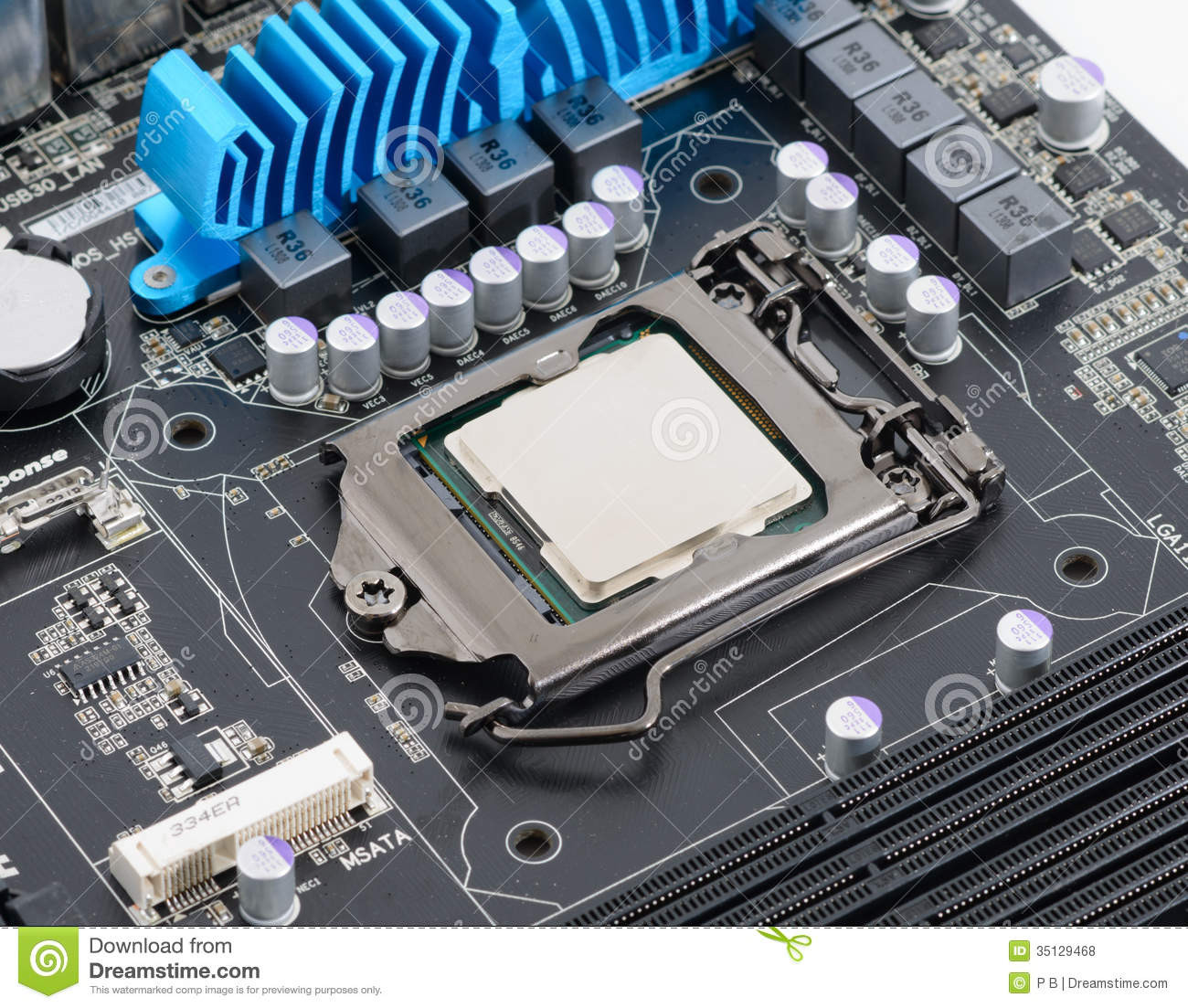 how to change the cpu in a computer