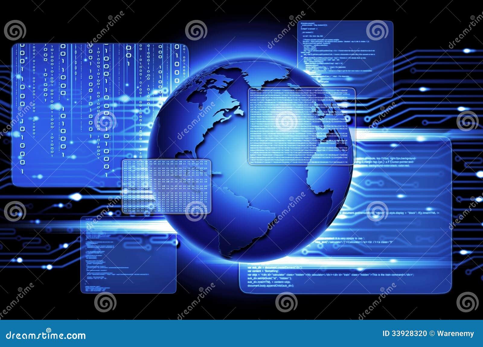 Computer Program Stock Photo Image Of Binary Alert