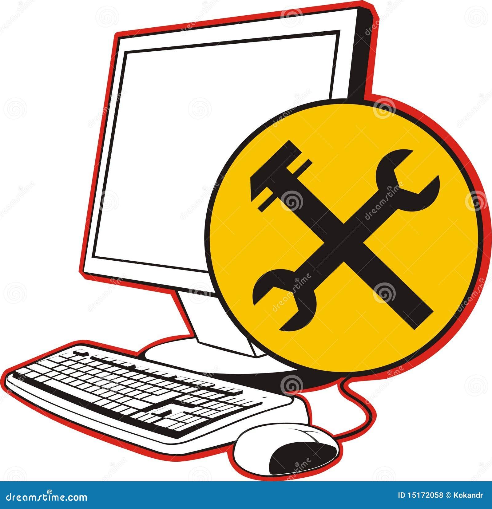 Computer Repair Royalty Free Stock Photos - Image: 15172058