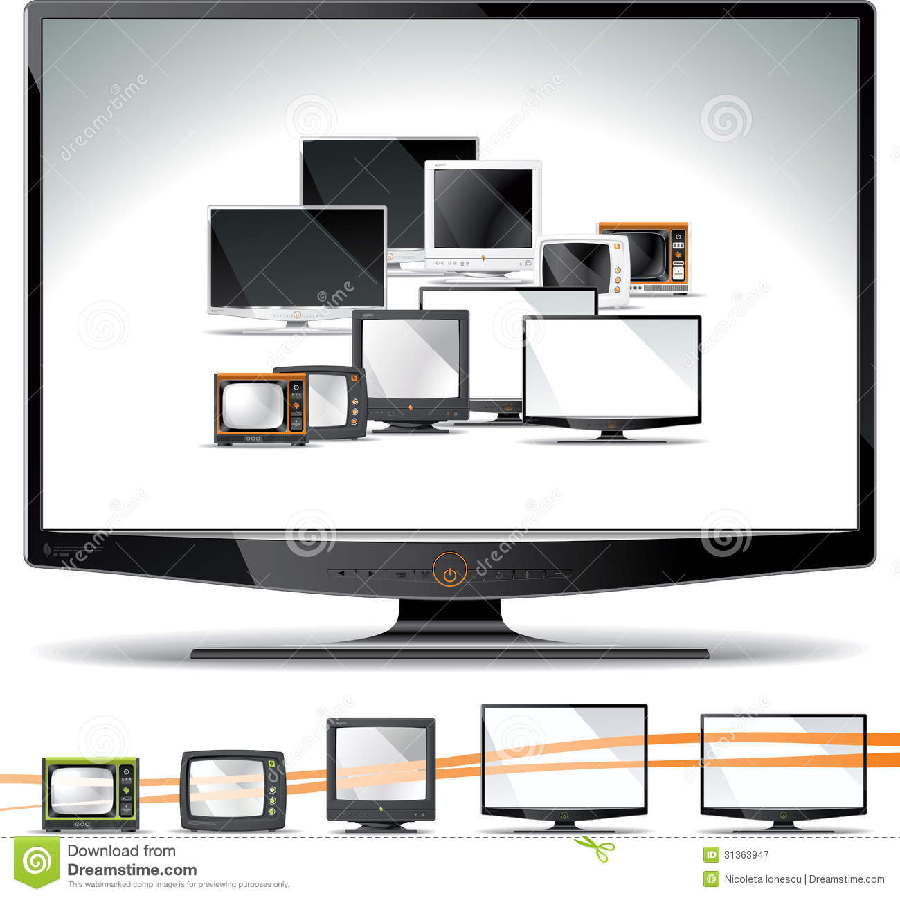 lcd led crt Television history and facts – electromechanical tv to 3d tv – crt, lcd, led,  plasma, hdtv and 3d tv history and facts 19 comments.