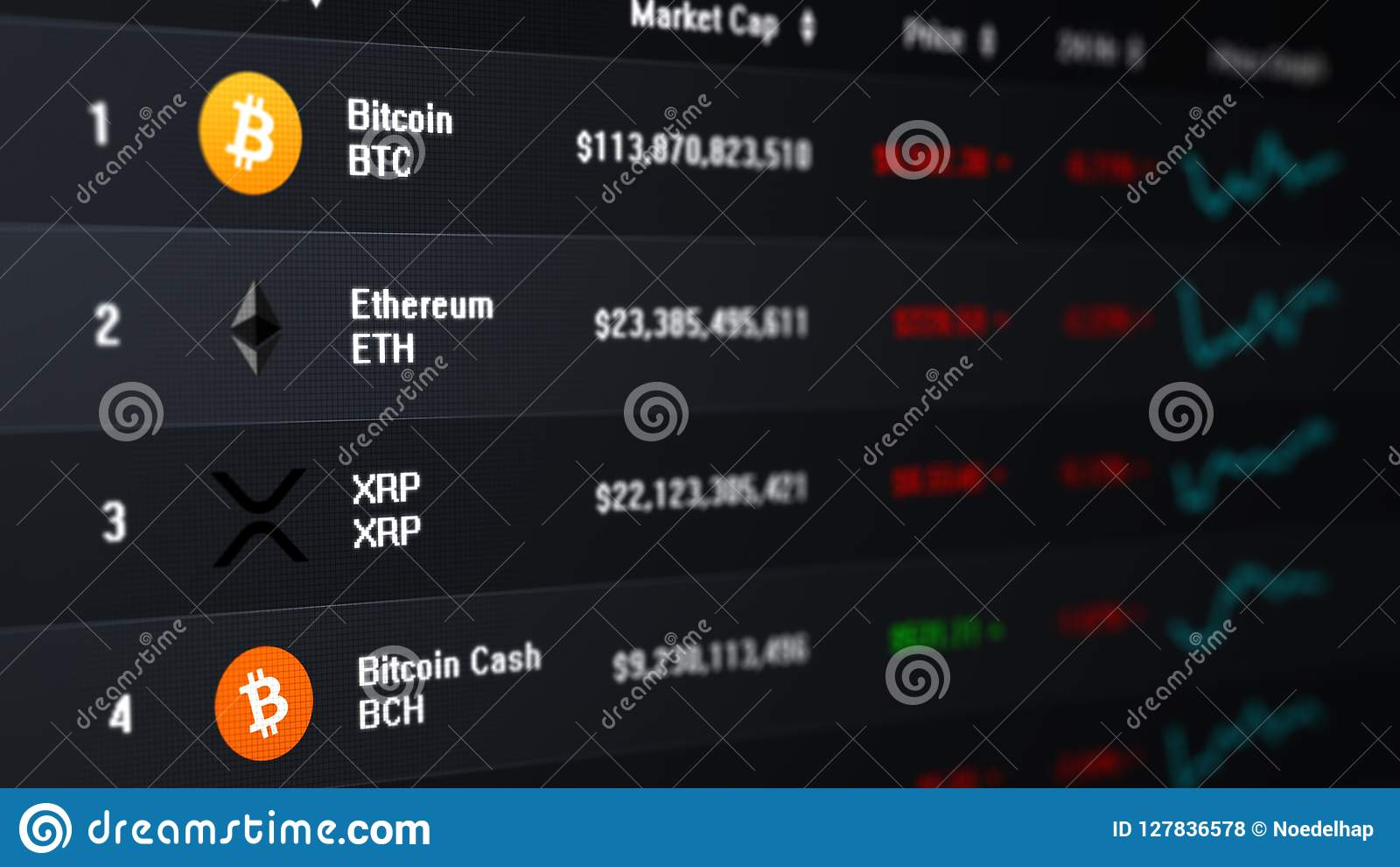 cryptocurrency exchange prices
