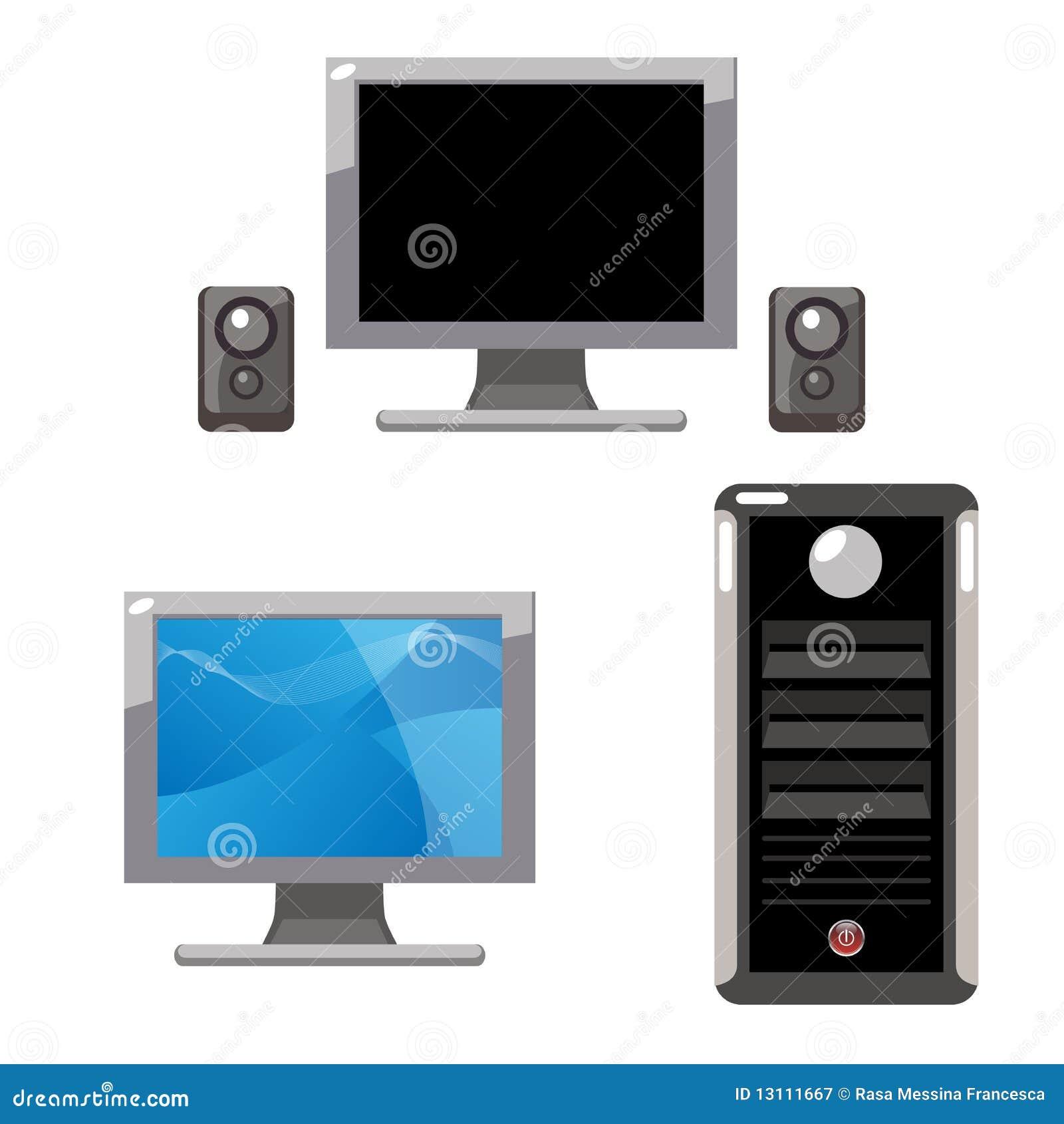 Computer set