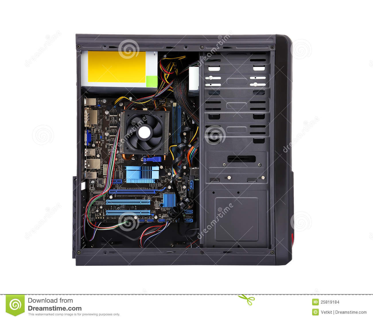 the system unit The system unit, also known as a tower or chassis, is the main part of a desktop computer it includes the motherboard, cpu, ram, and other componentsthe system unit also includes the case that houses the internal components of the computer.
