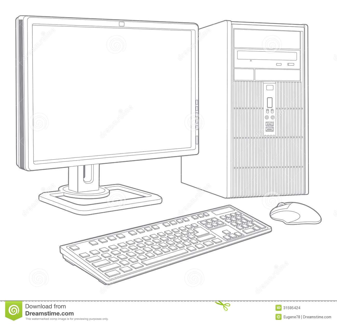 Computer System Stock Images - Image: 31595424