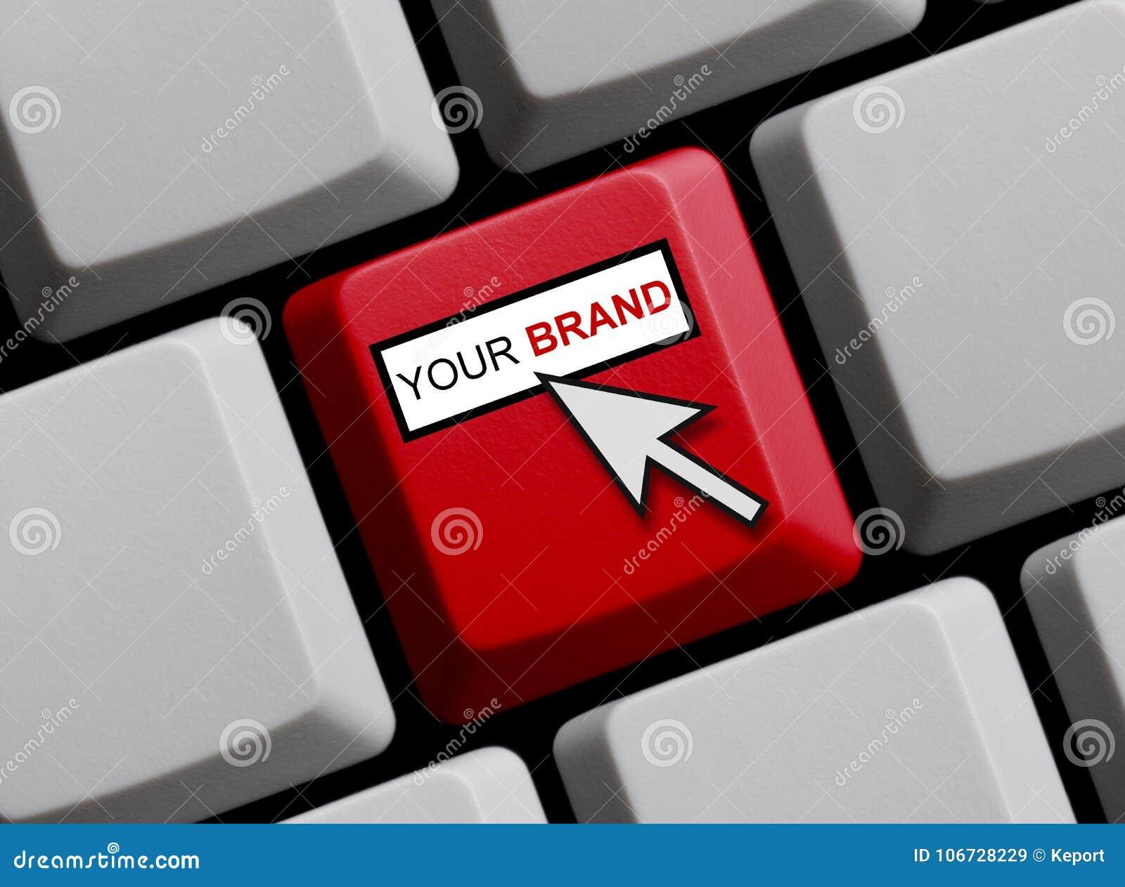 Computer-Tastatur: Ihre Marke
