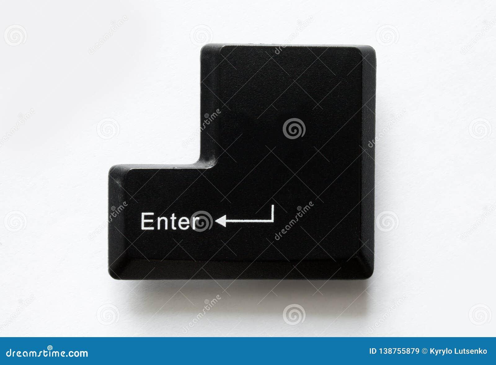 Computer-Taste enter