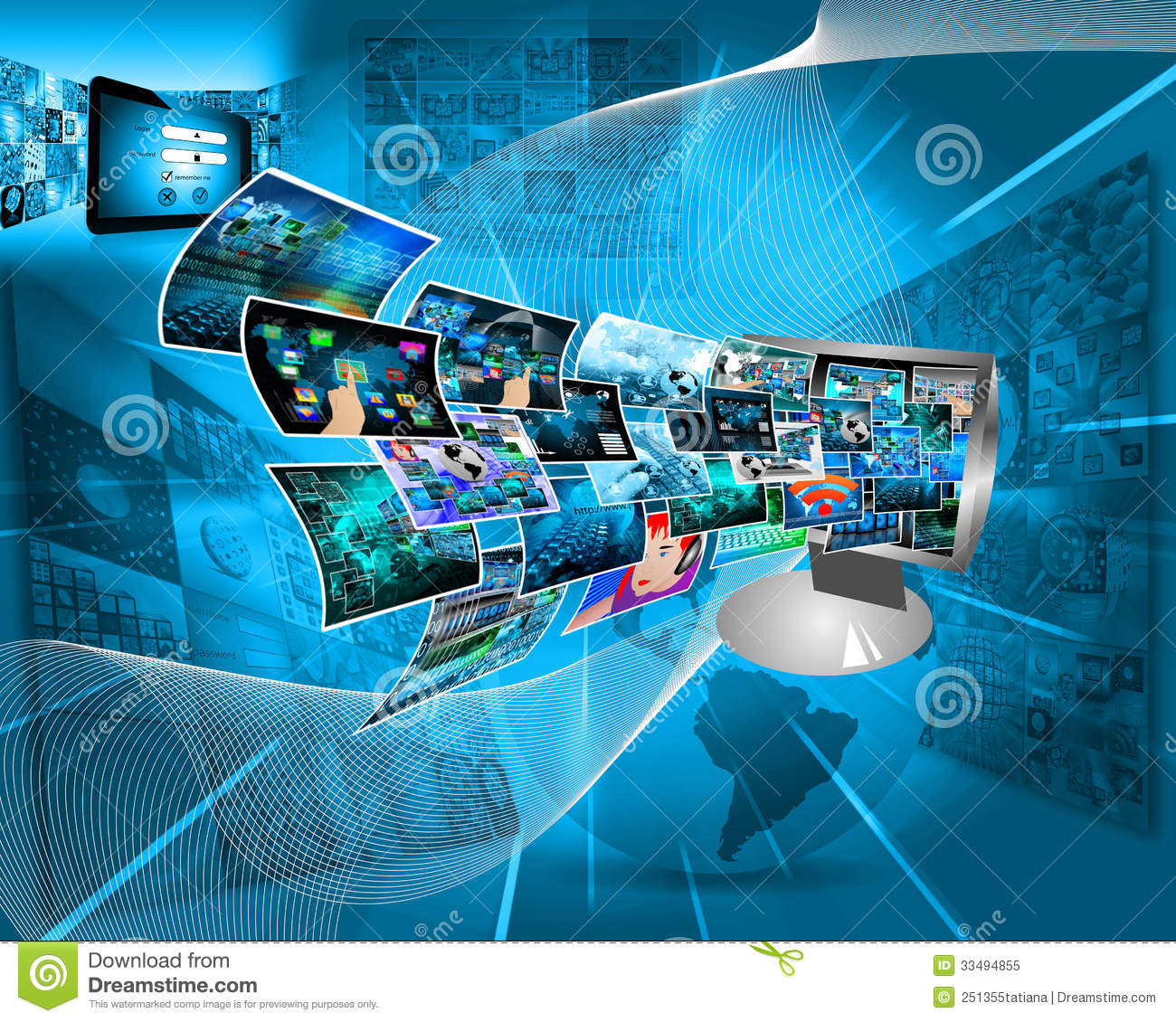 technology computer computers theme abstract variety different royalty shows business composition which yavatmal