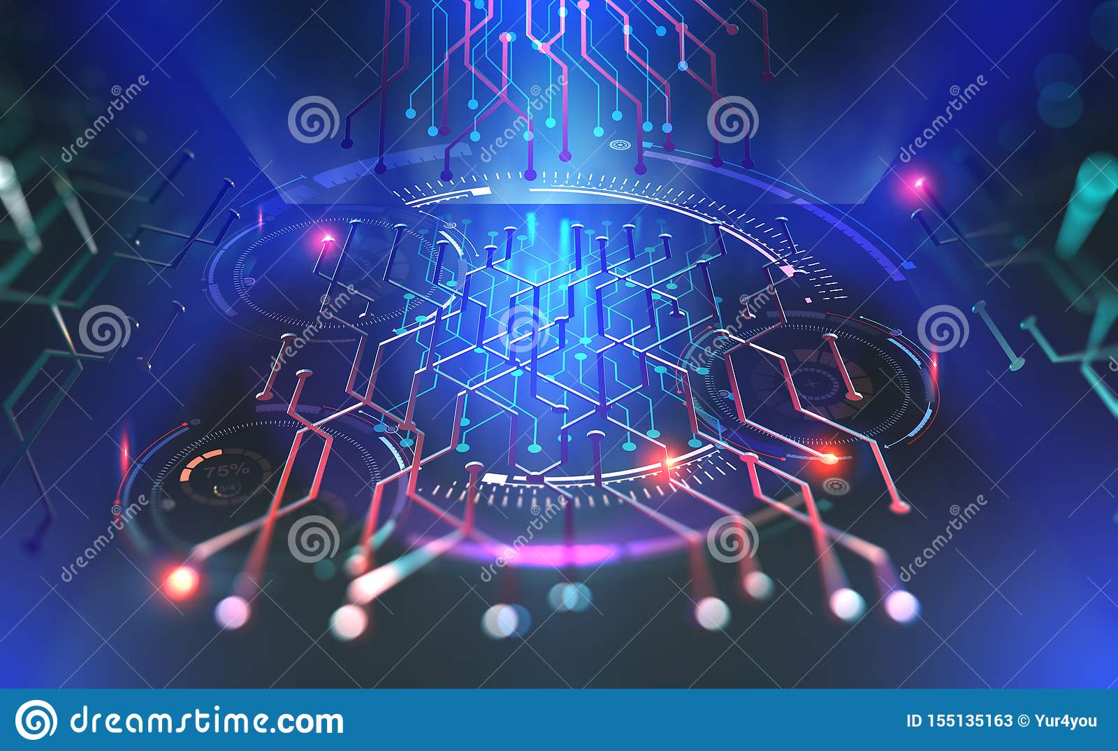Computer technology of the future. Microchip quantum processor
