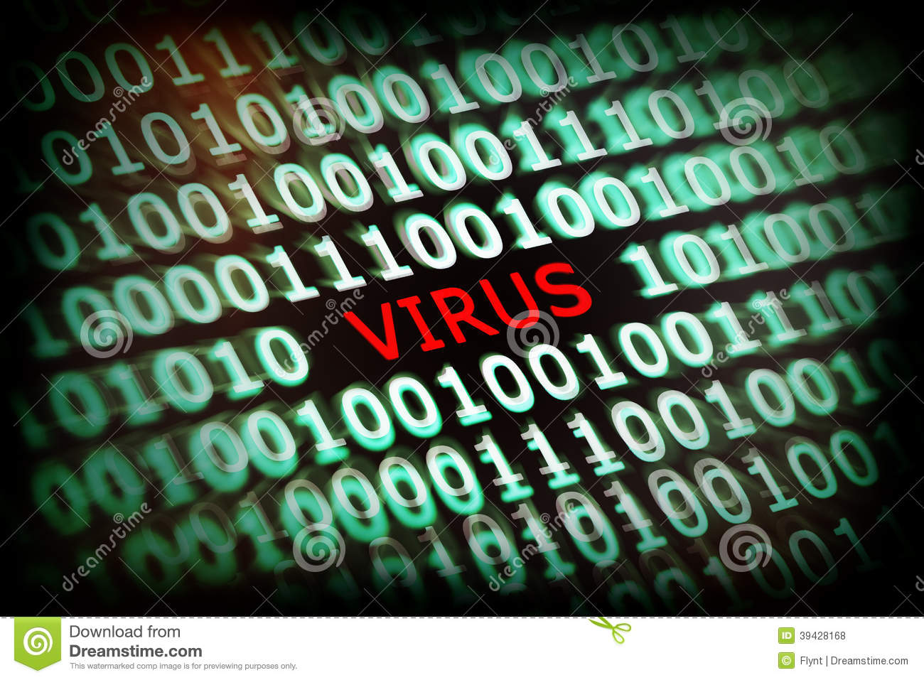 Computer Virus Stock Photo Image Of Caution Http