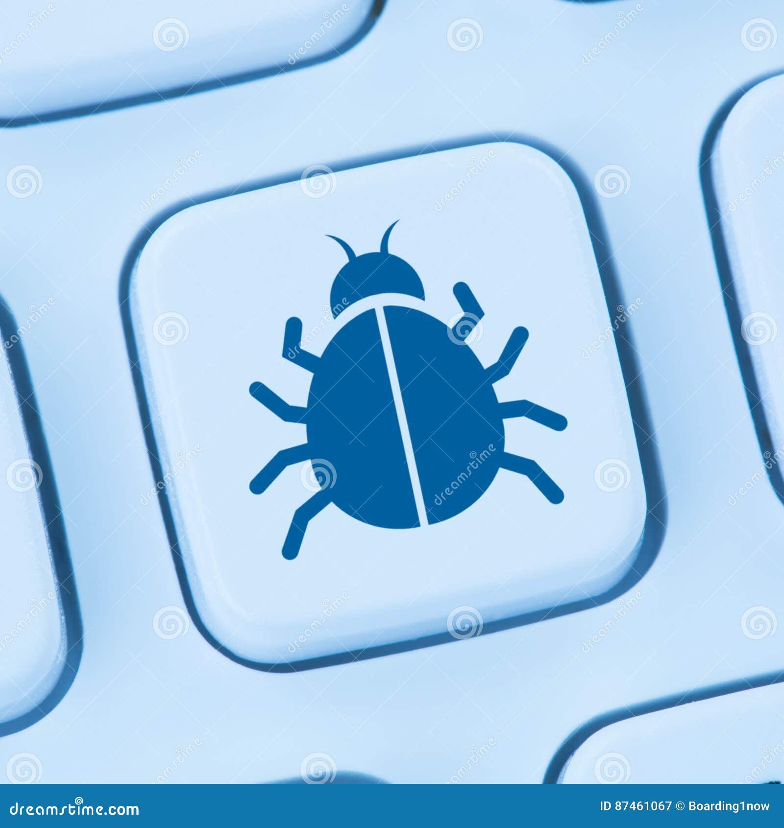 Viral Times Web: Computer Virus Trojan Network Online Security Blue
