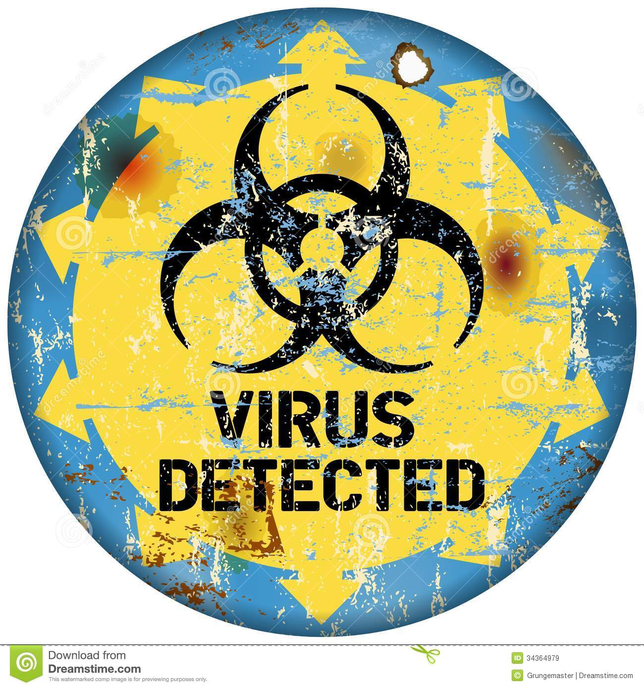 Computer Virus Royalty Free Stock Images Image 34364979