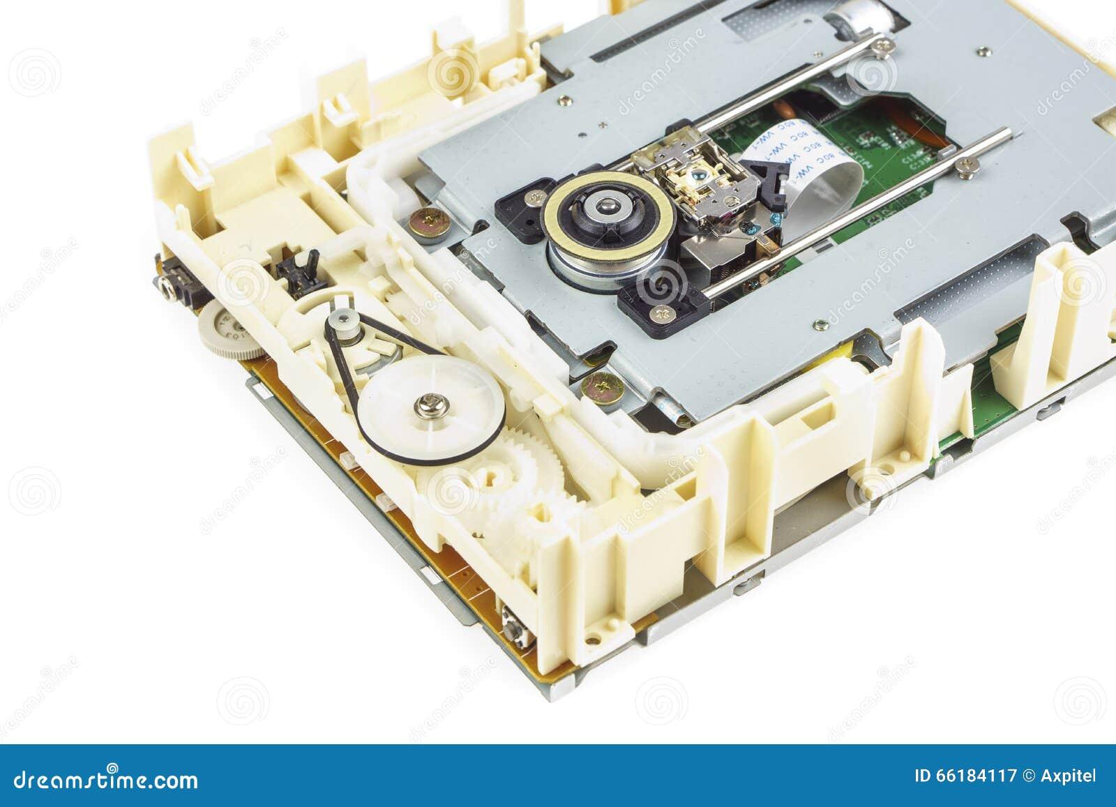 Computercd-rom-laufwerk baute 03 auseinander