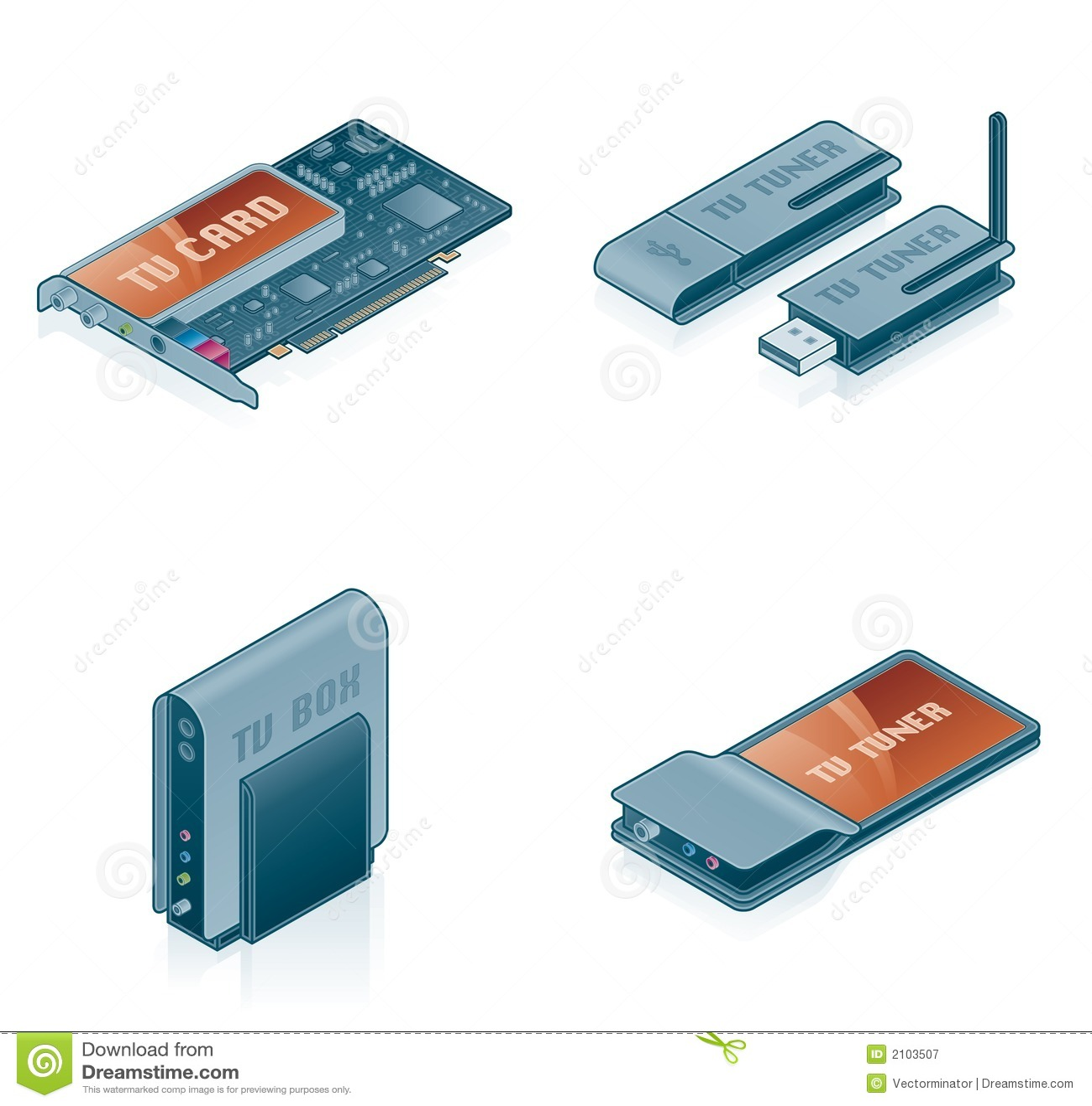Computerhardware-Ikonen eingestellt - Auslegung-Elemente 55k