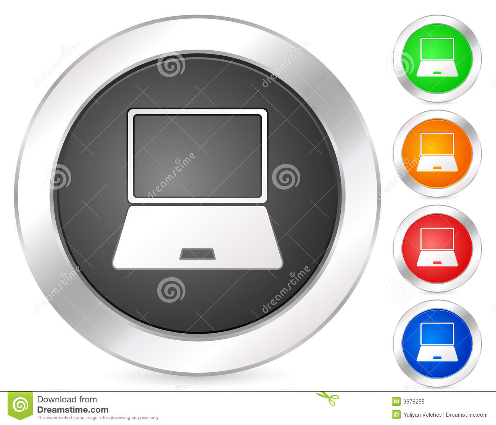 Computerikonenlaptop