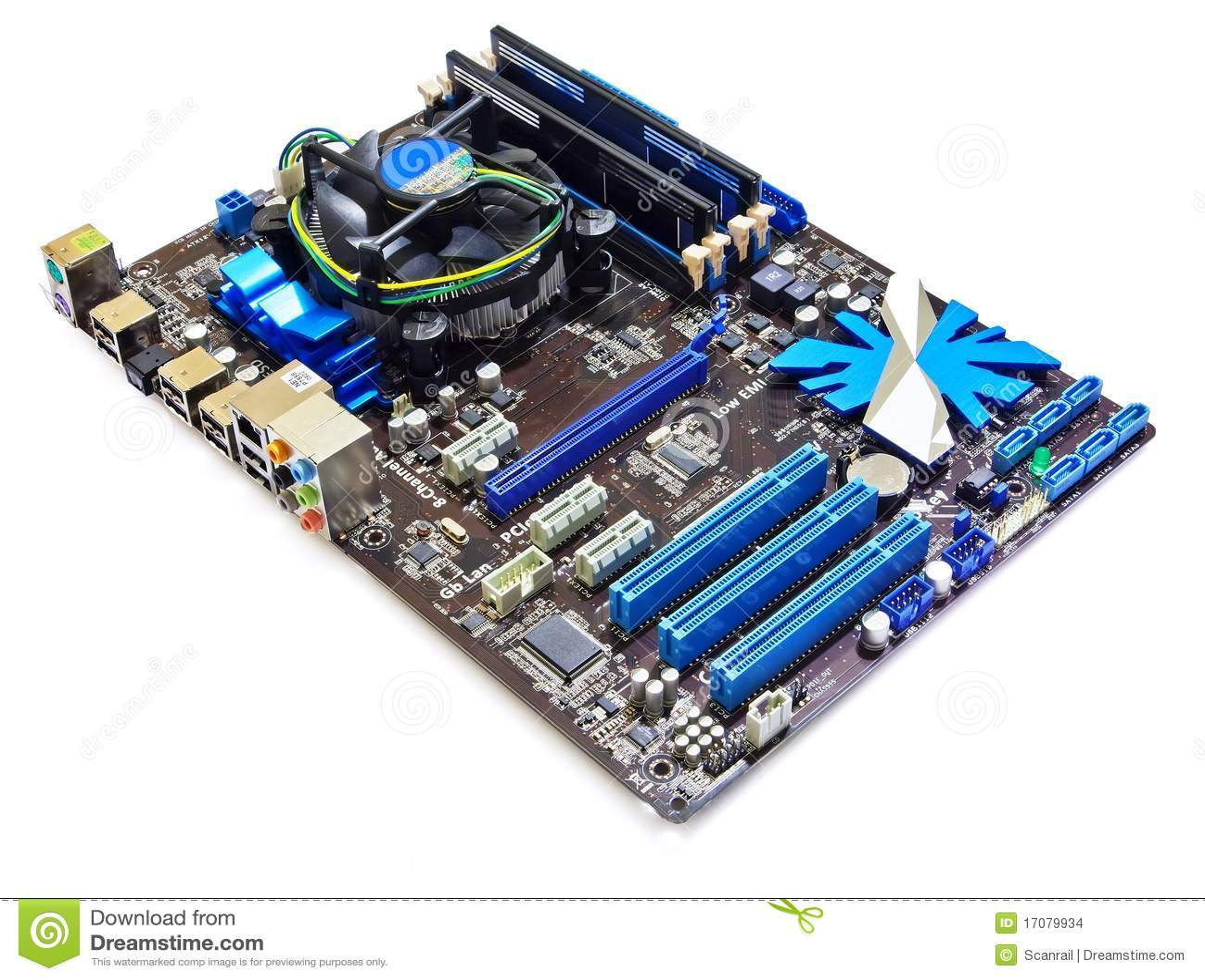 Computermotherboard
