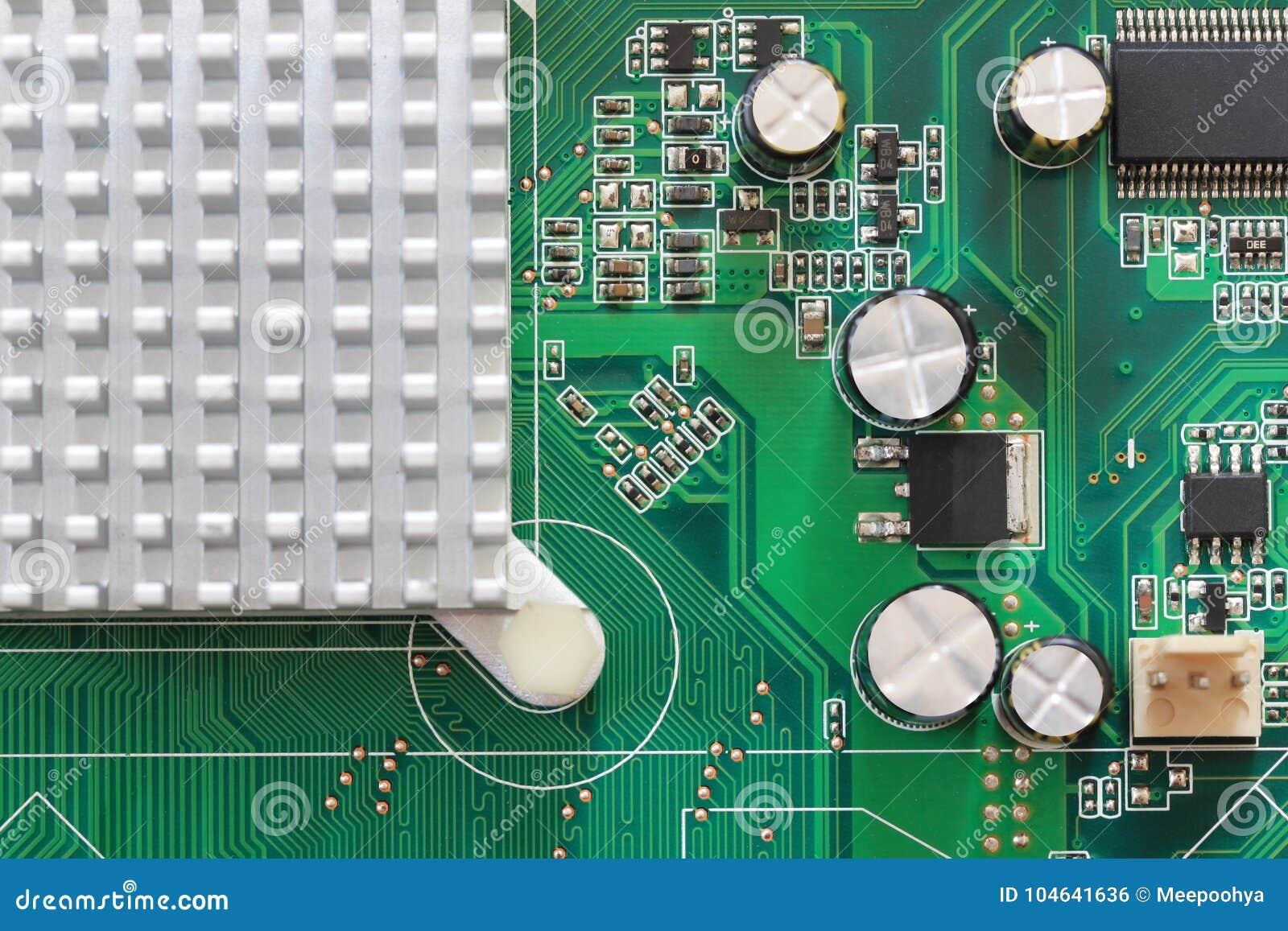 Download Computermotherboard Van Details Stock Foto - Afbeelding bestaande uit techniek, gegevens: 104641636