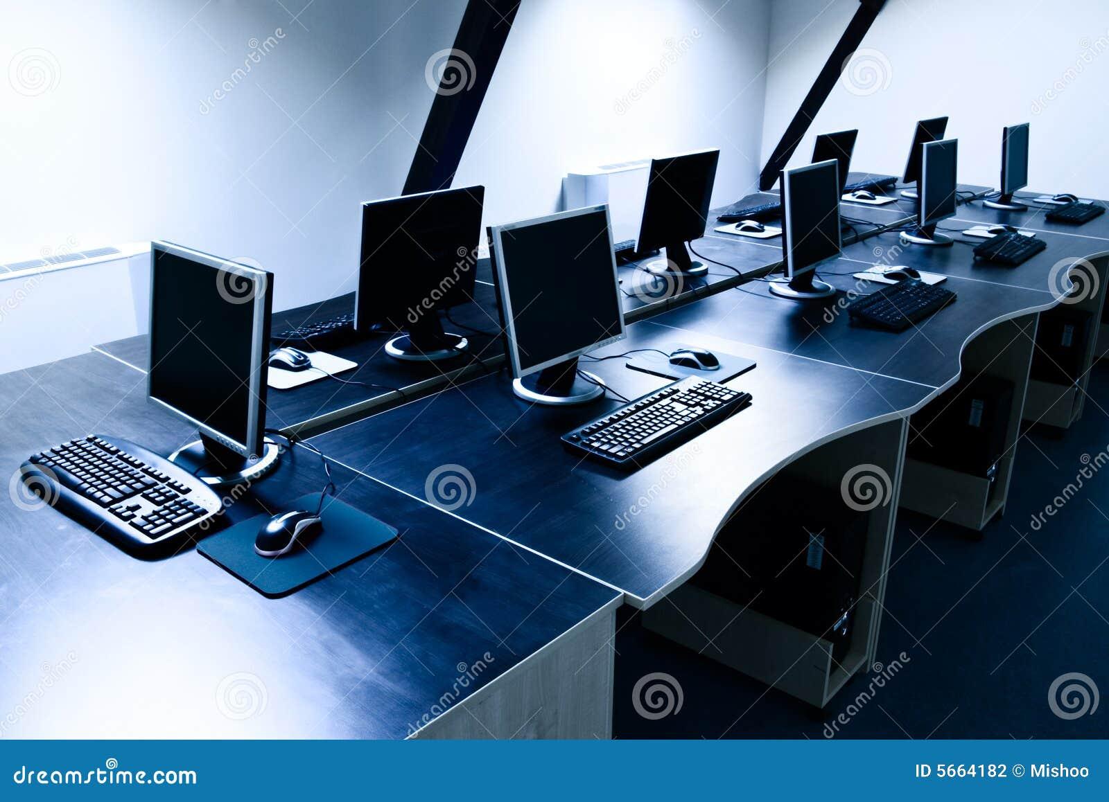 Computers room