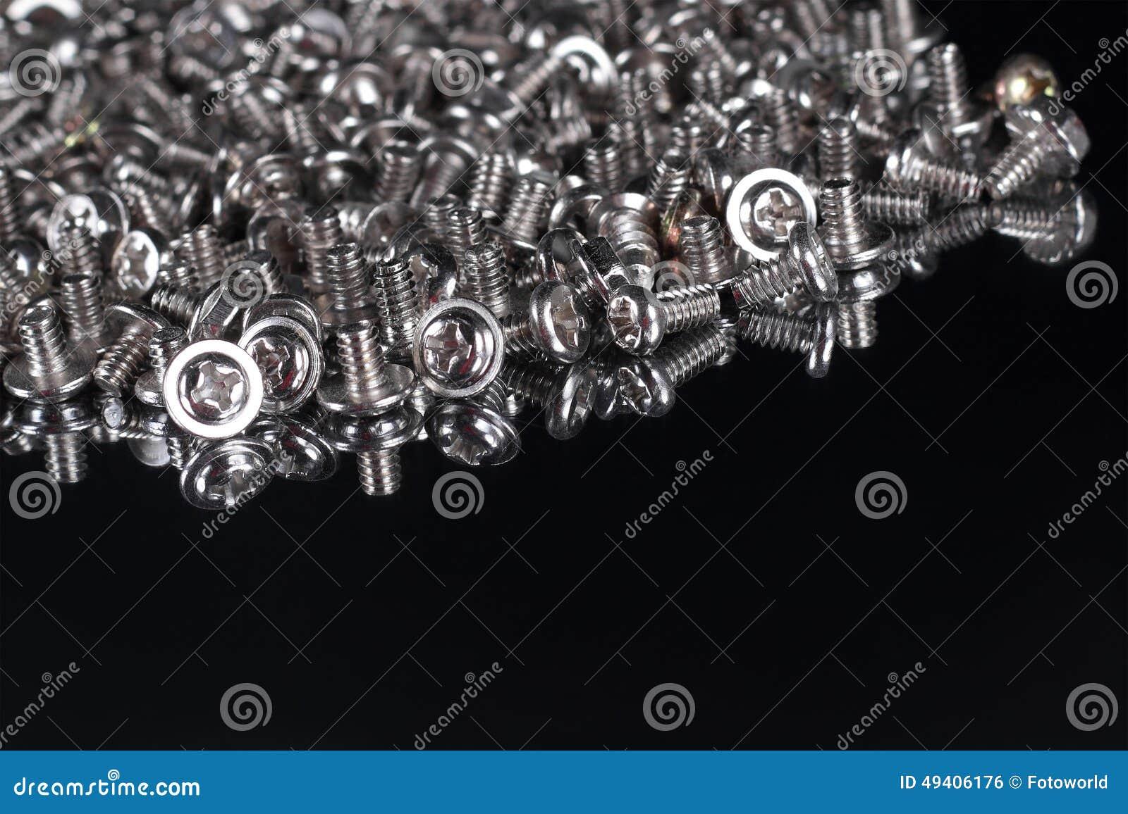 Download Computerschrauben In Einem Spiegel Stockfoto - Bild von oxidiert, muttern: 49406176