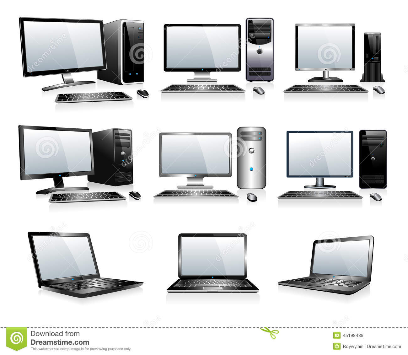 Computertechnologieelektronika - Computers, Desktops, PC