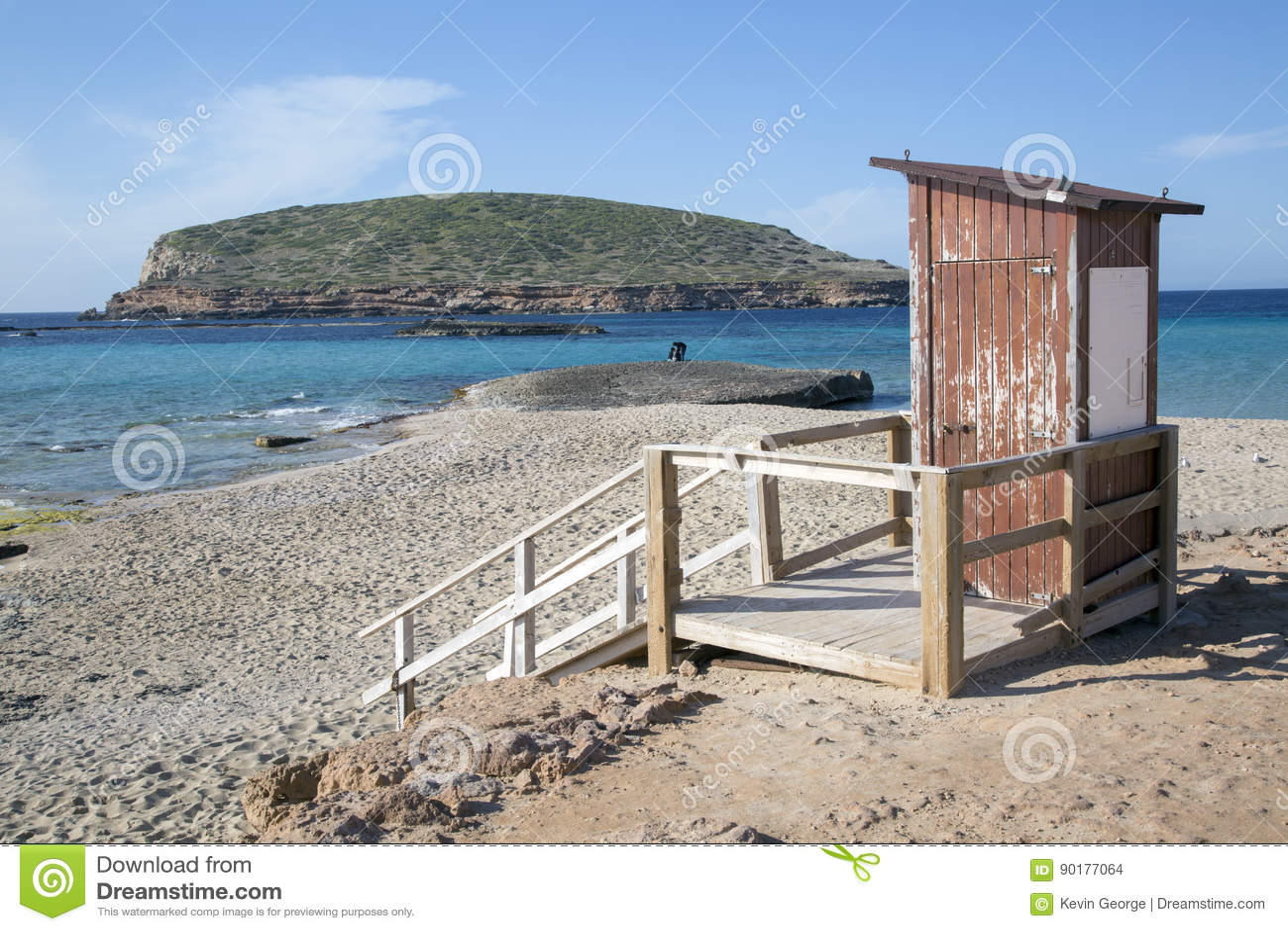 Comte Beaches, Ibiza, Spain Stock Photo - Image of rock