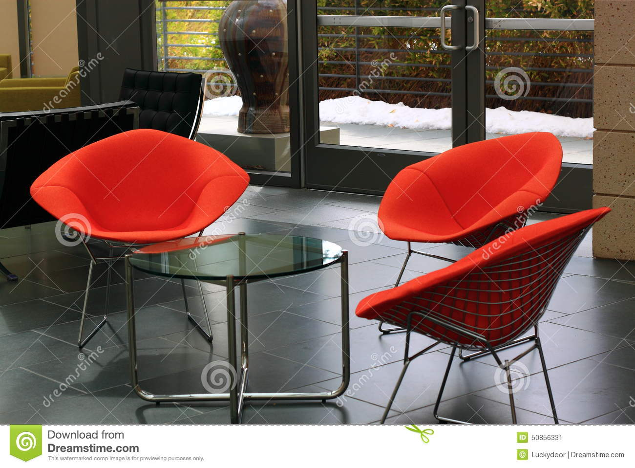Comtemporary office furniture stock photo image 50856331 for Modern sitting chairs