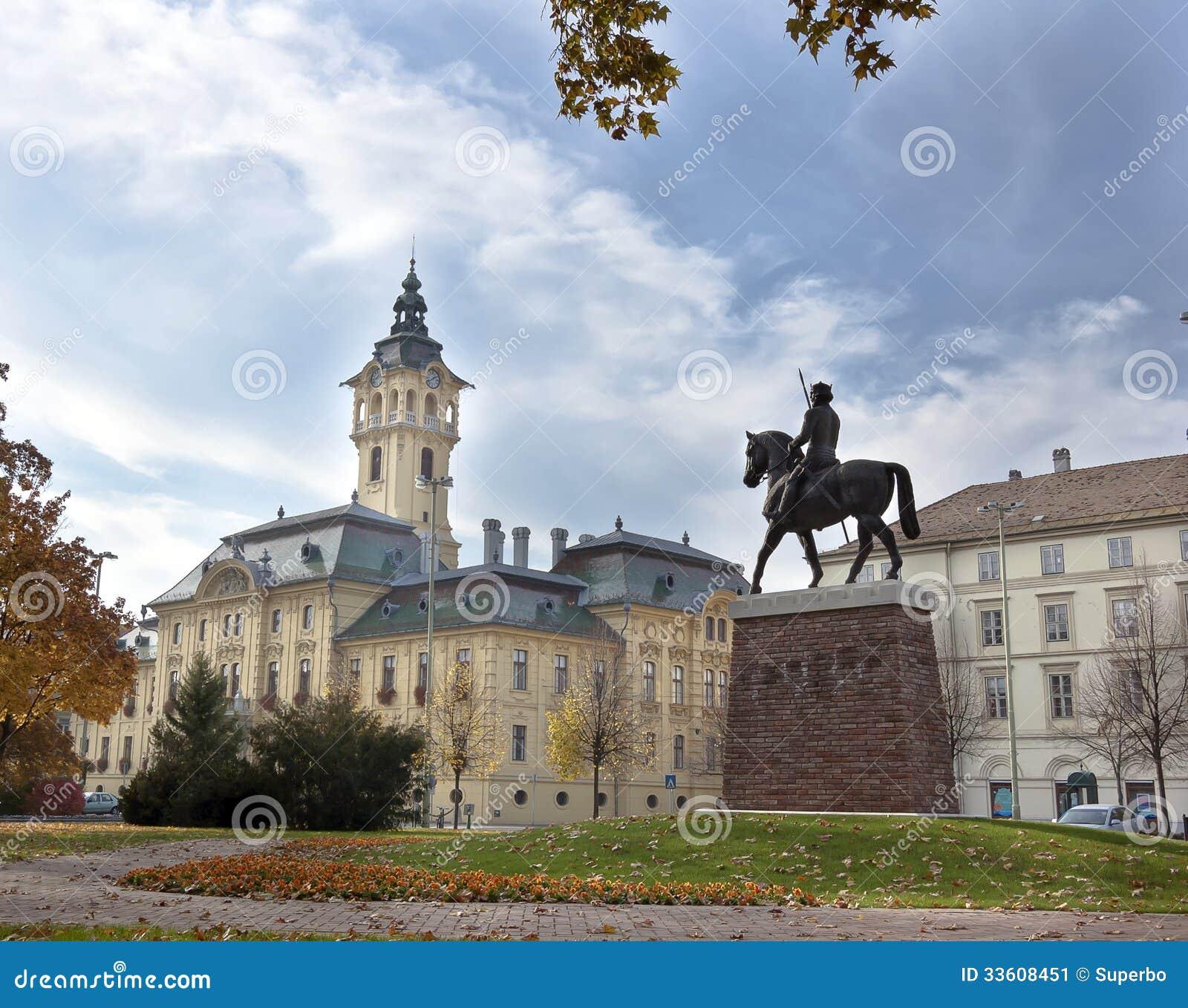 Comune in Seghedino, Ungheria.