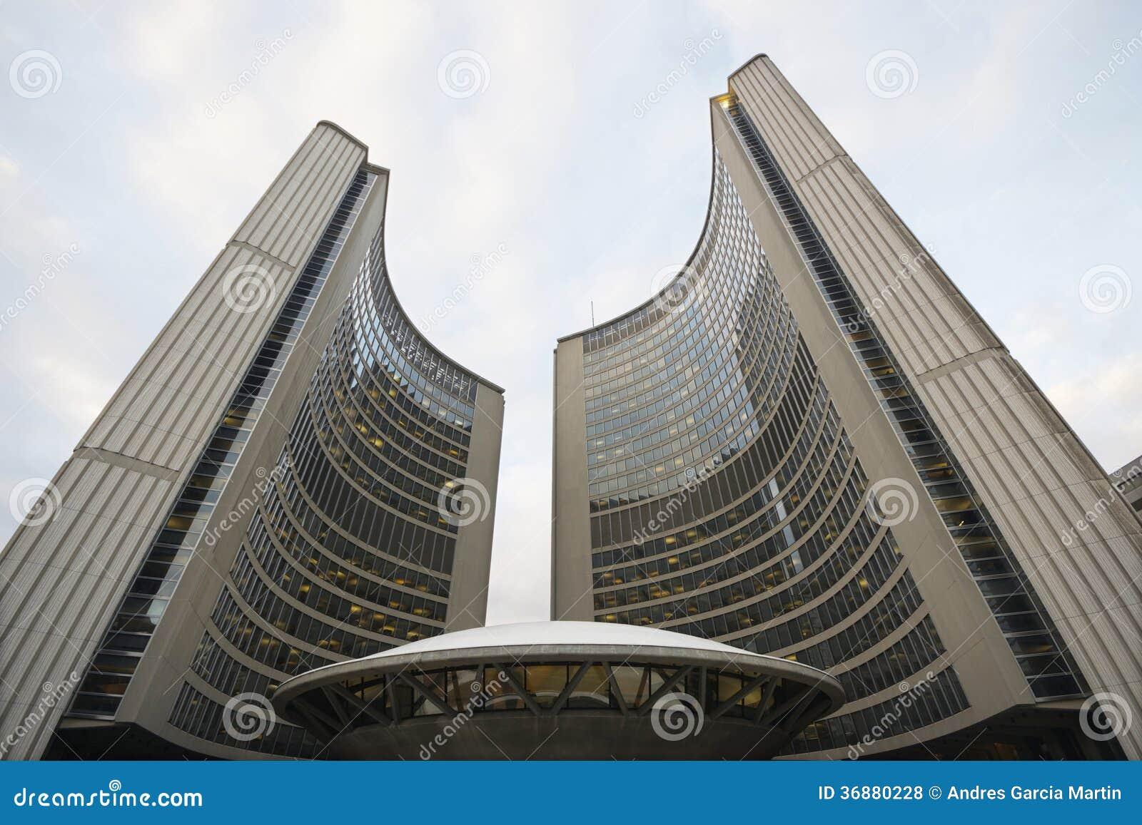 Download Comune, Toronto fotografia stock. Immagine di corridoio - 36880228
