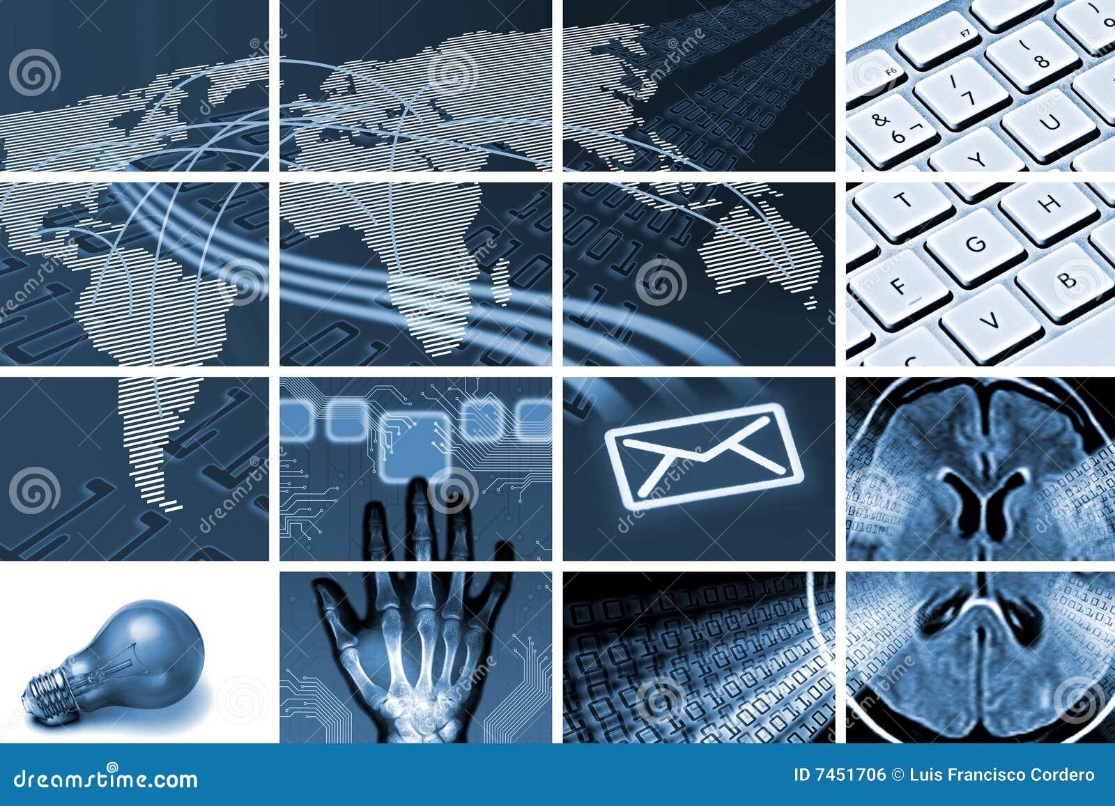 Comunicações e composição da tecnologia