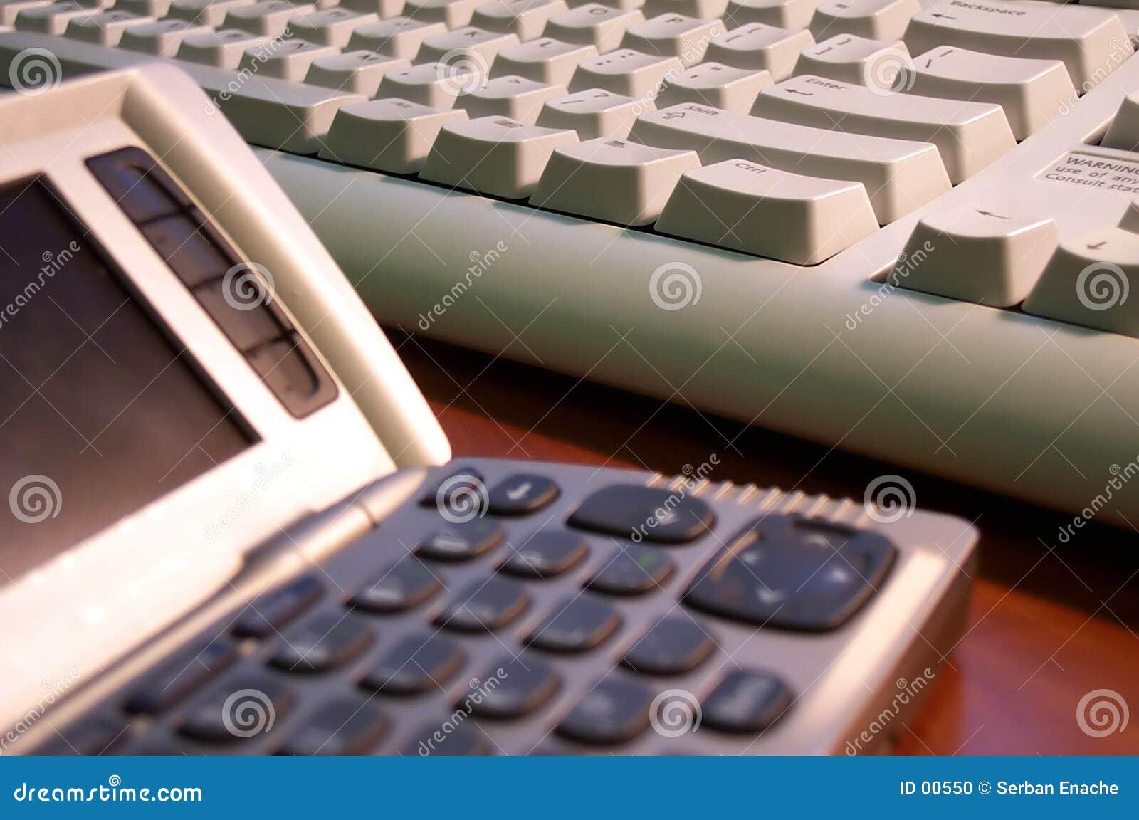 Comunicador e teclado