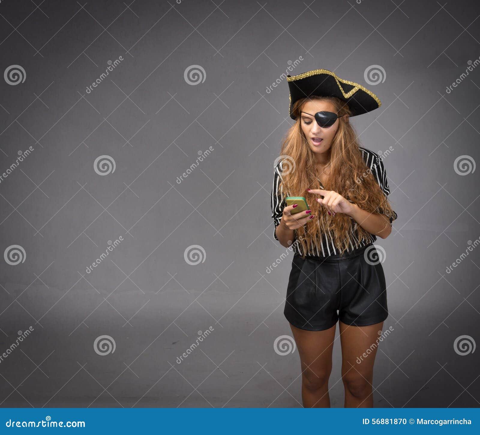 Comunicazione del pirata con lo smartphone