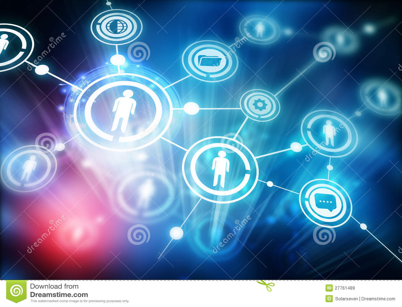 A comunidade da rede