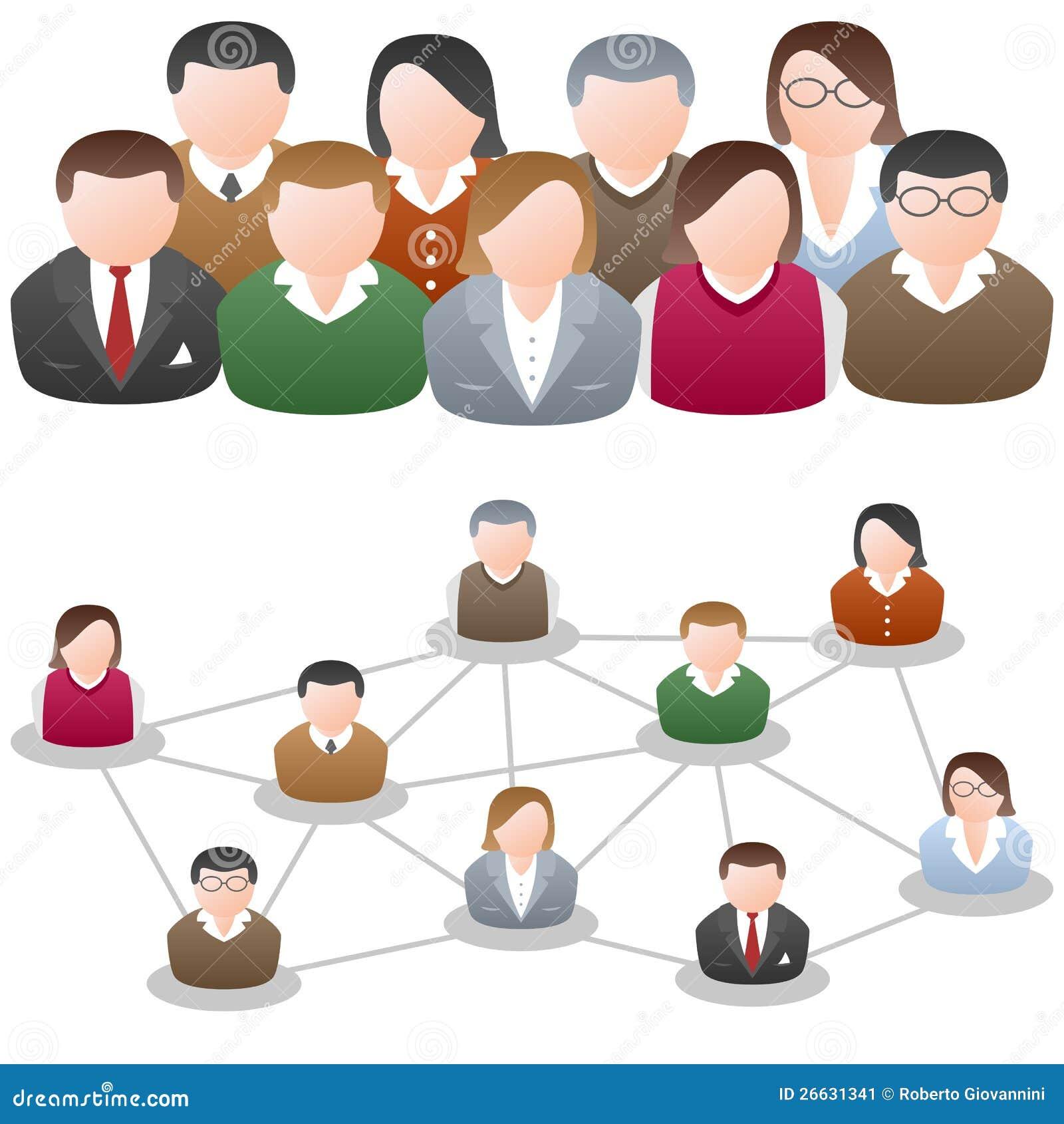 A comunidade social da rede dos media