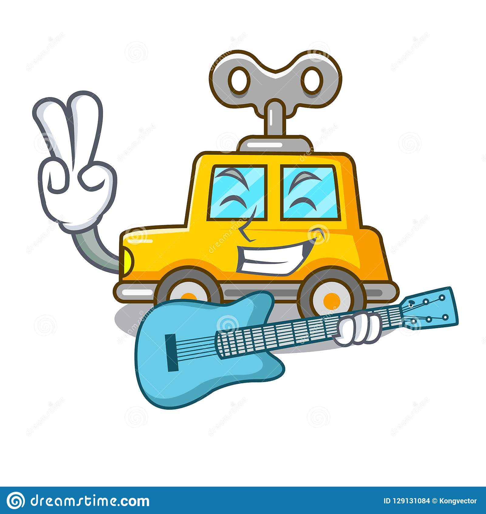 Historieta El Del Mecánico Juguete Con Coche Guitarra La De shdrtQ