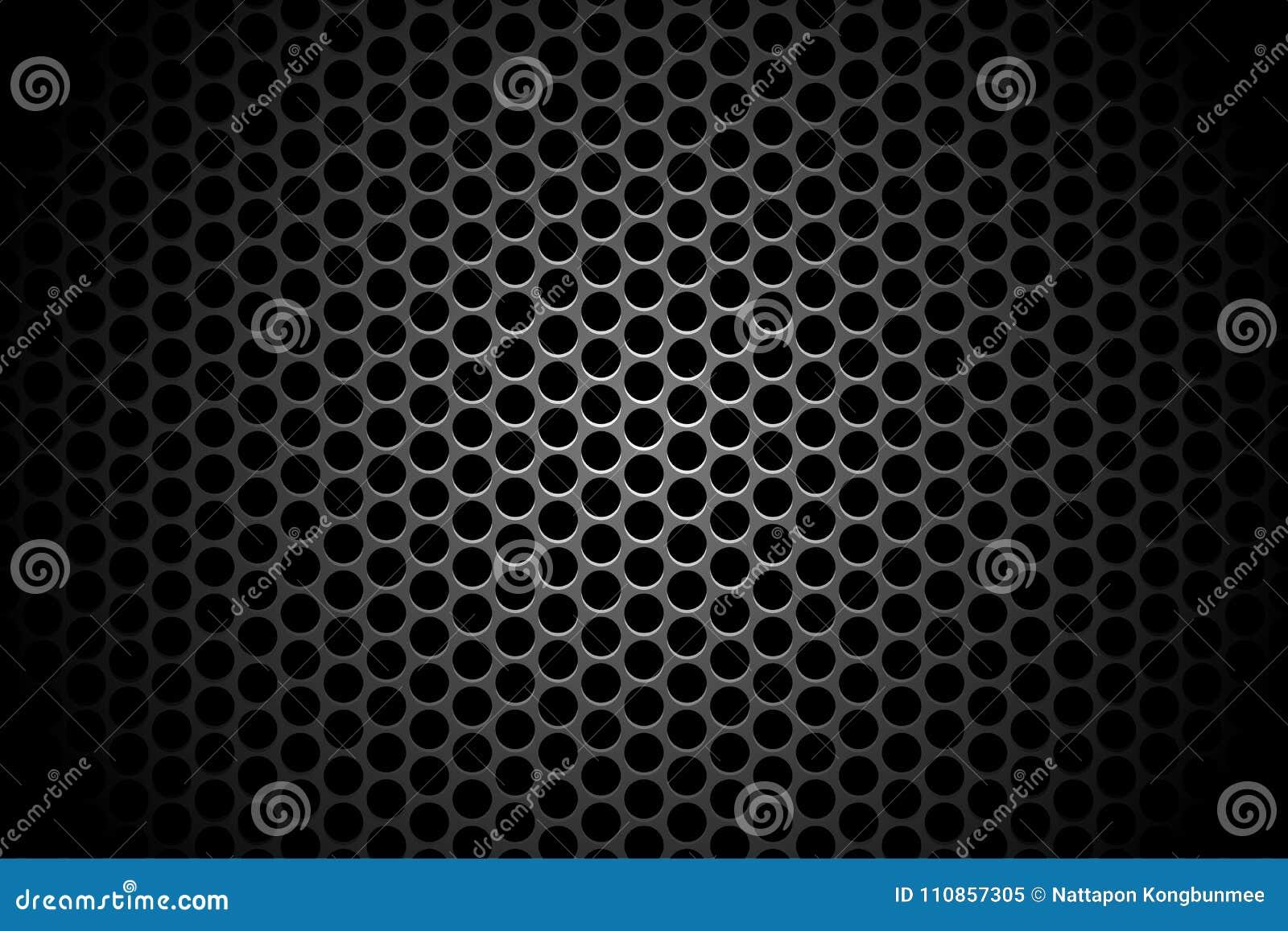 Conce abstracto del fondo del contexto de la sombra del agujero del círculo de la tecnología