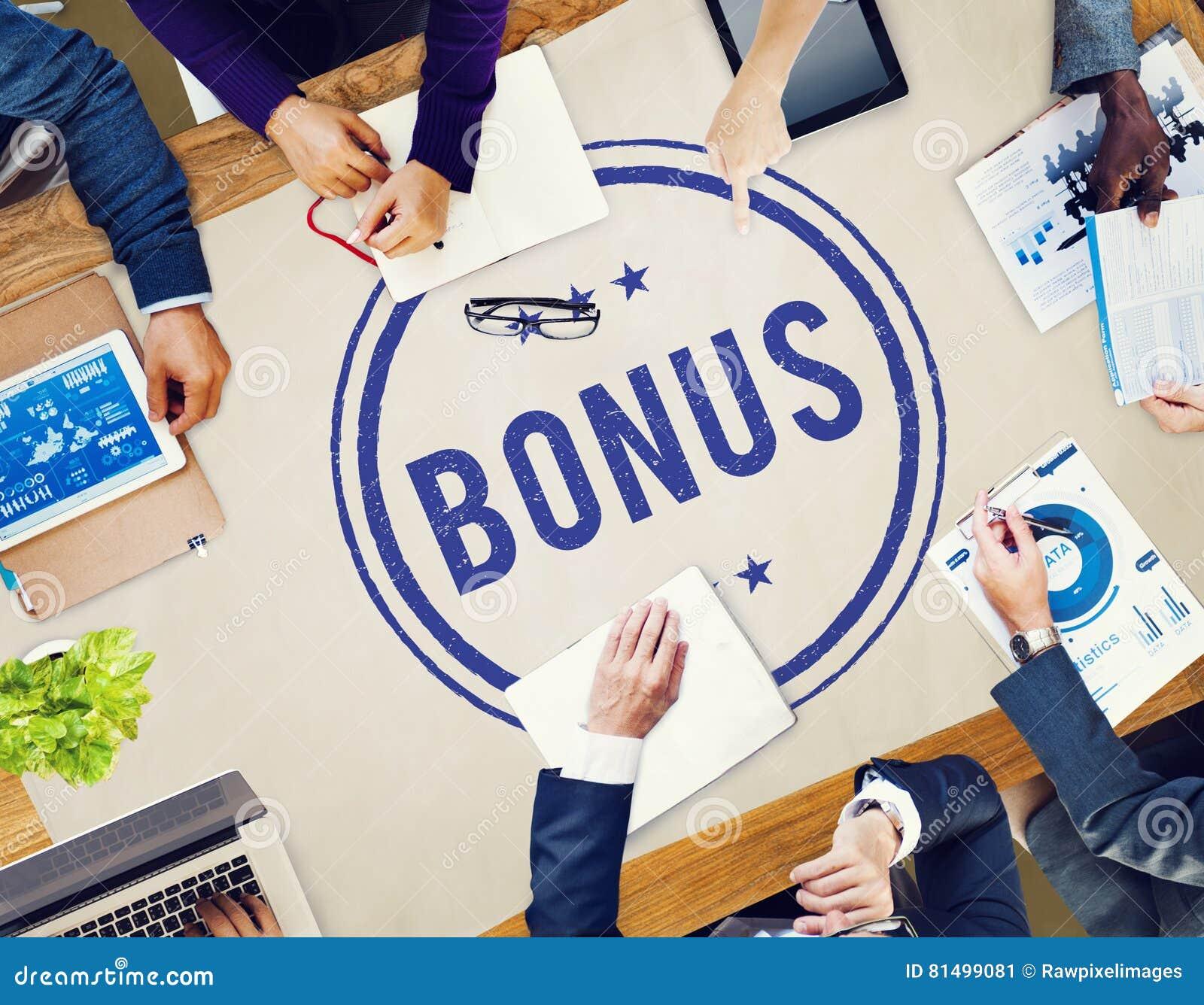 Conceito adicional Incentive da compensação do lucro premiado do bônus