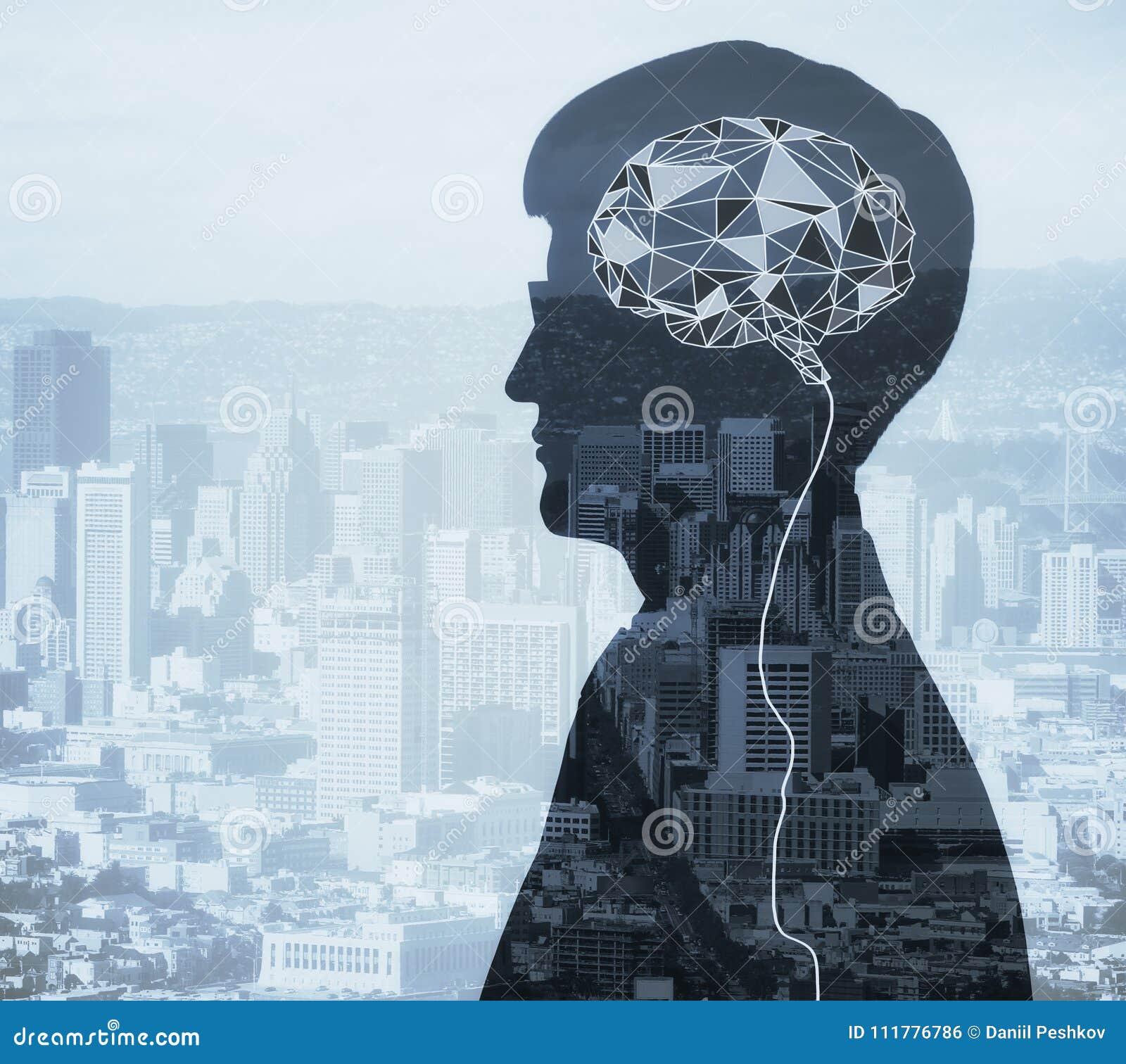 Conceito artificial da mente